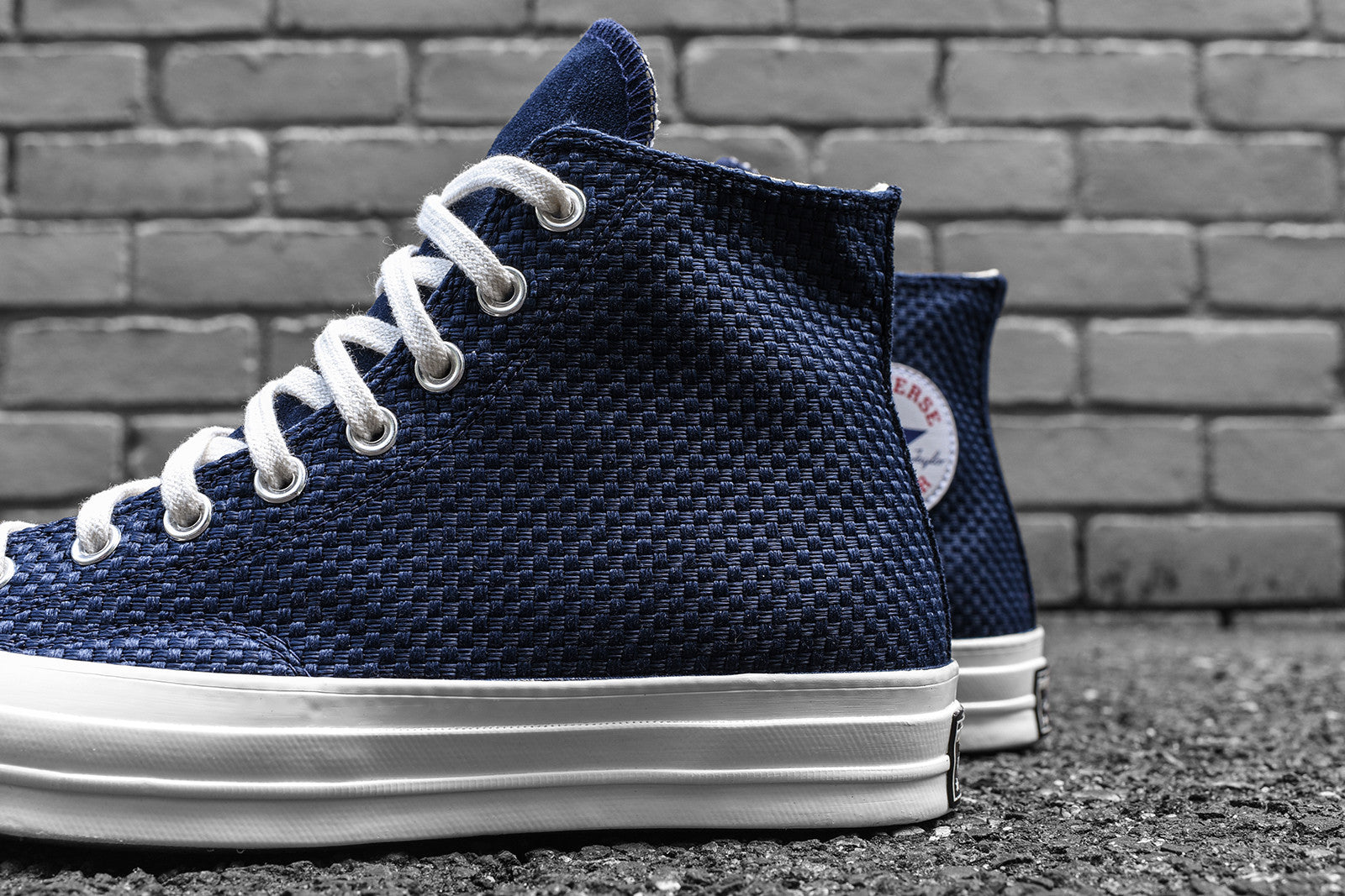 8d4667463573 Converse Chuck Taylor All Star  70 Woven High   Low Pack – Kith