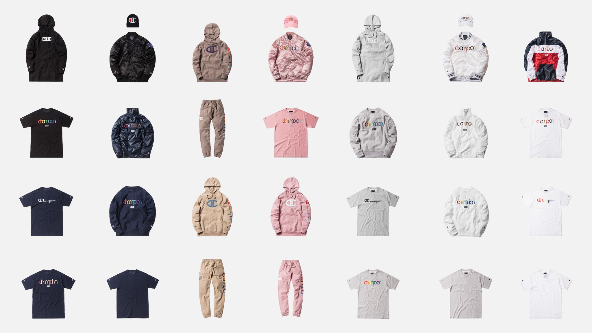 9611012f A Closer Look at Kith x Champion Collection