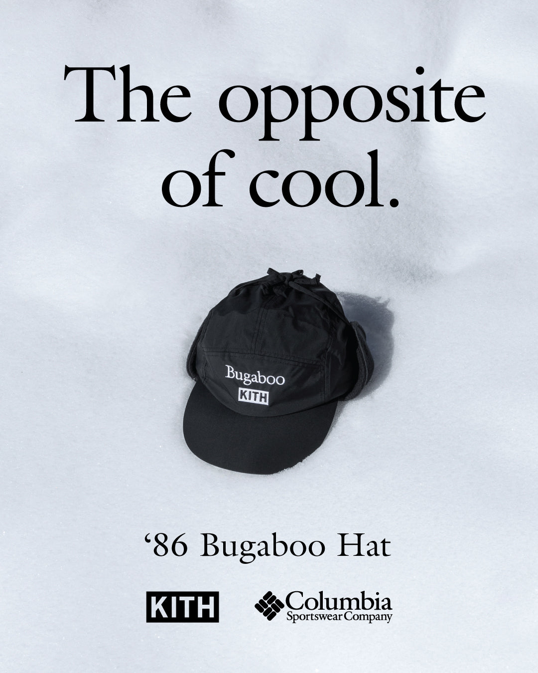 bc3f05fba3d2e Kith x Columbia Sportswear Bugaboo Collection - 90 s Ads Reinterpreted