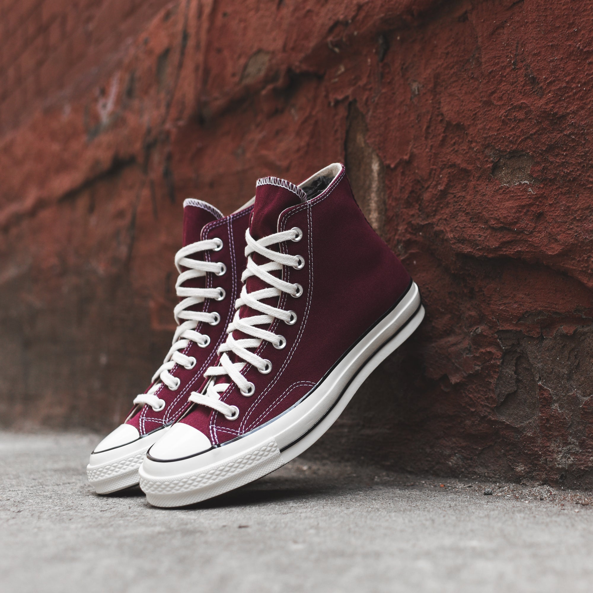 Converse CT 70 Hi Dark Burgundy