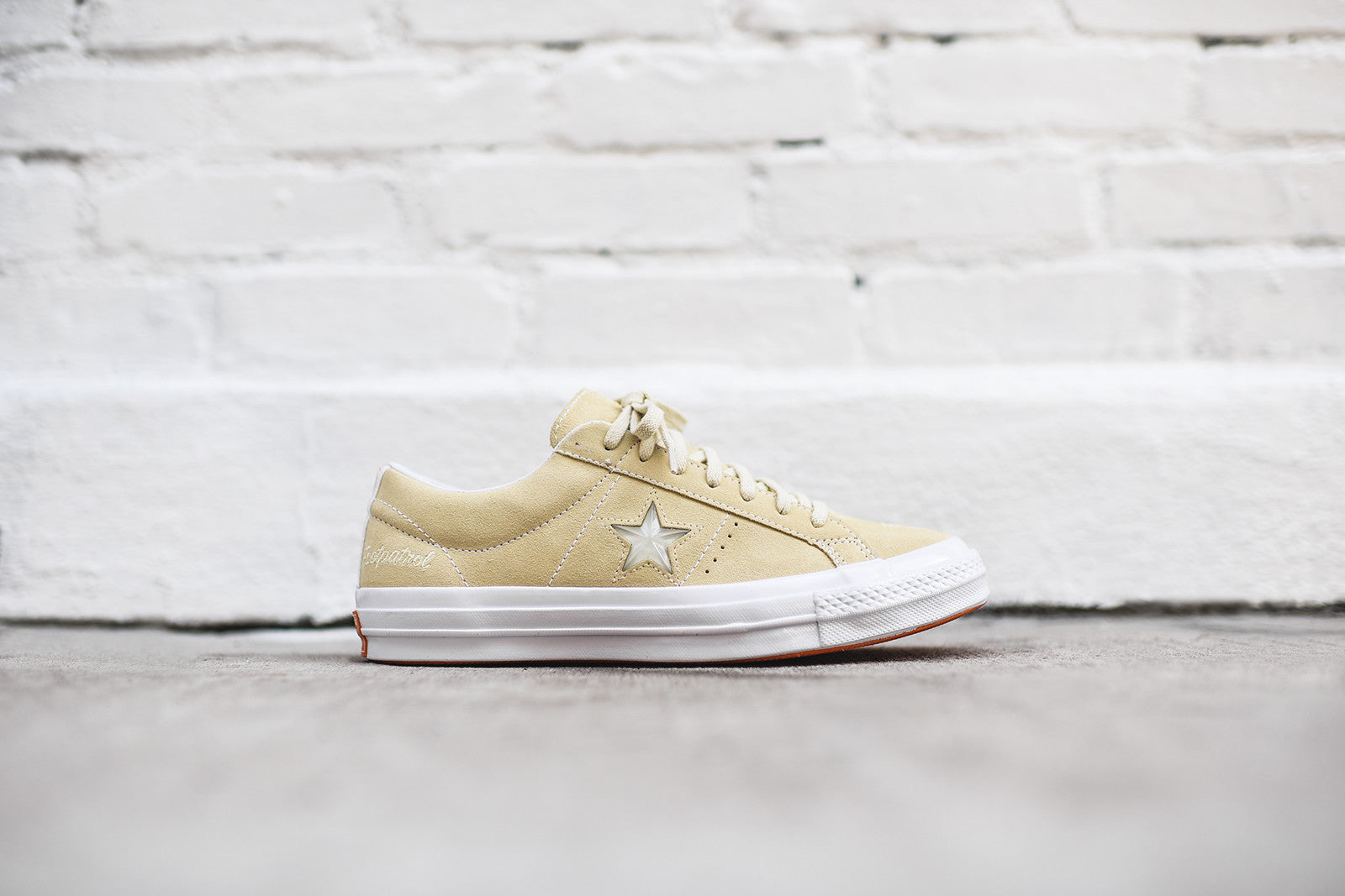 a02e8fdc7f82 Converse x Footpatrol One Star Ox - Cream   White. July 12