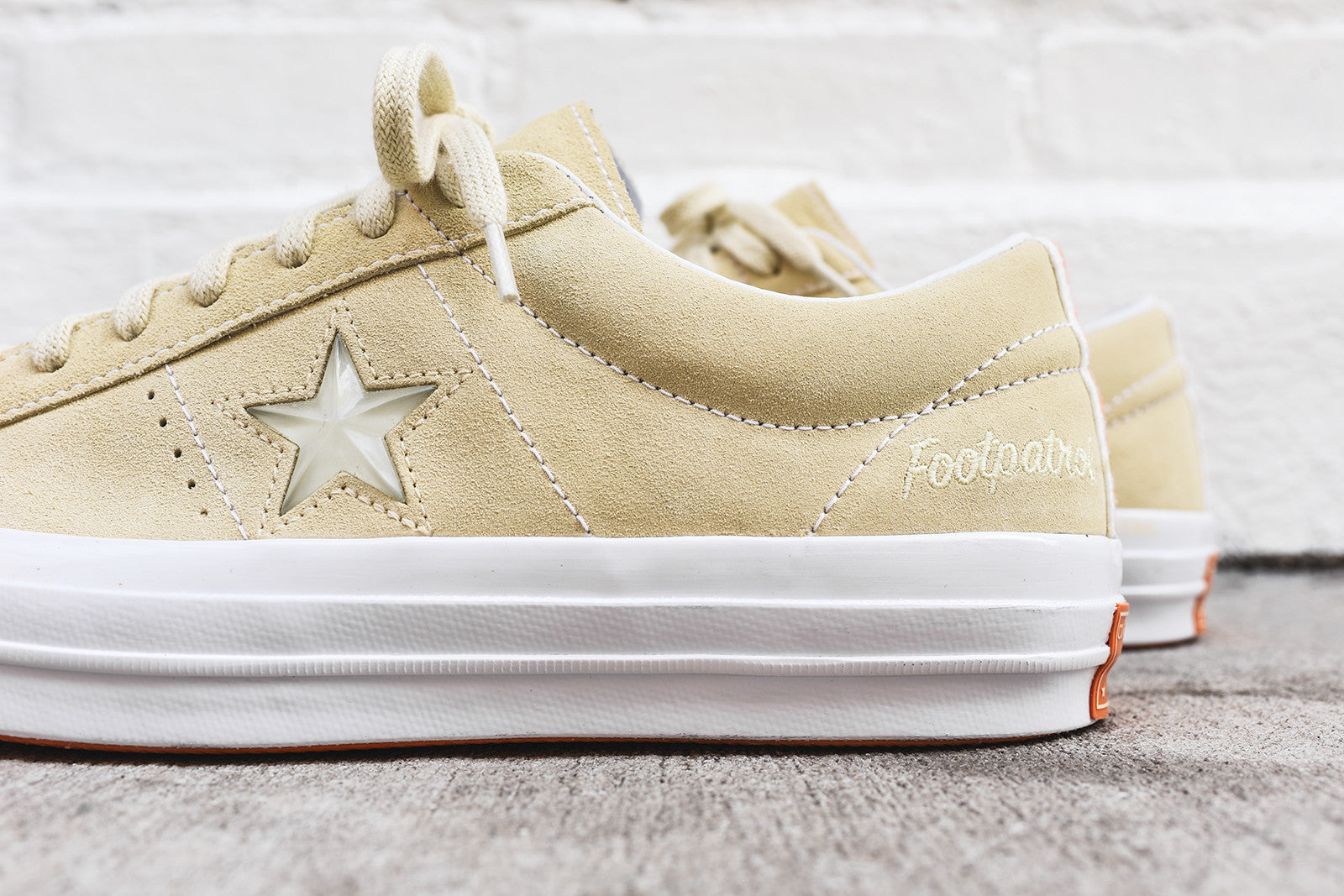 8a3acd53c449 Converse x Footpatrol One Star Ox - Cream   White – Kith