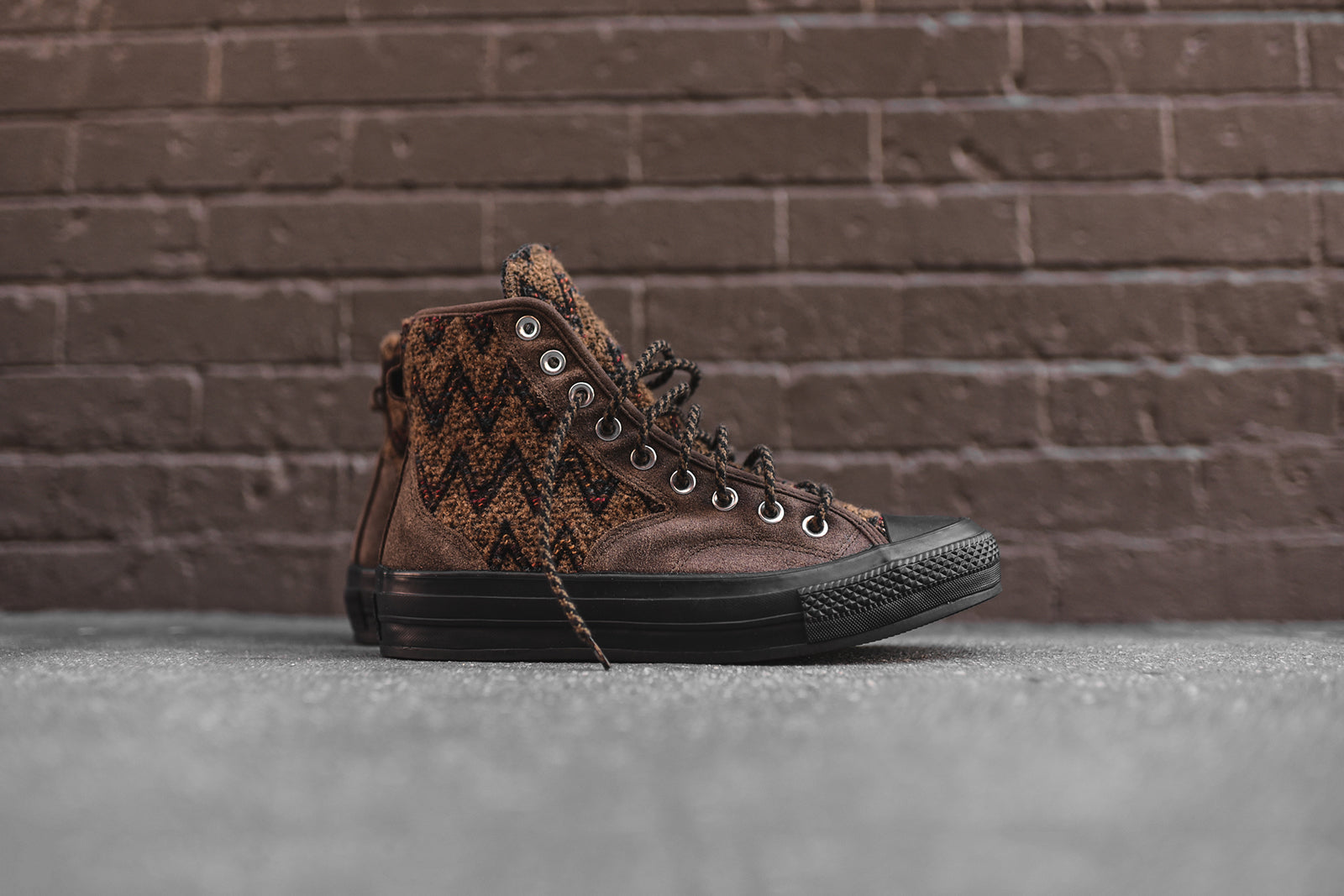 eba97863d93b Converse x Missoni Chuck Taylor All-Star High 1970 Hiker - Olive   Brown.  November 08