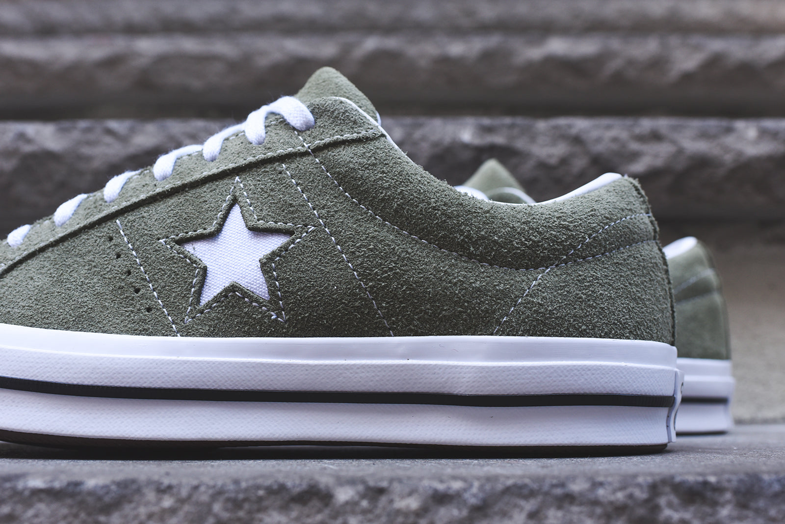Converse One Star Olive White – Kith