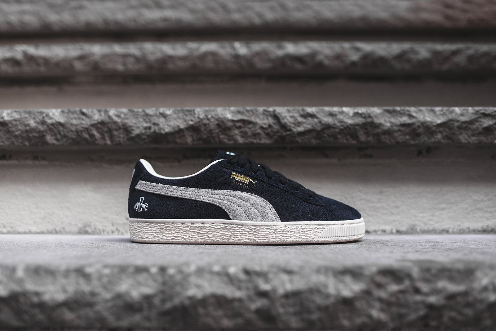best sneakers a96bc 6b98c Puma Suede Classic Dassler - Grey / White – Kith
