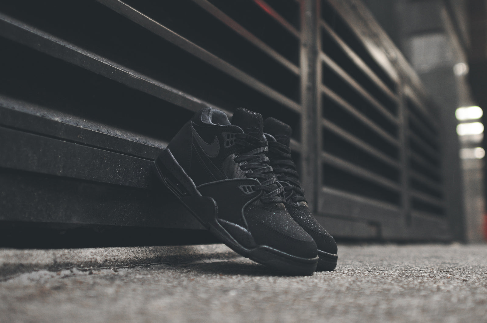 new products 14d67 1ad97 NIKE AIR FLIGHT '89 - TRIPLE BLACK @ KITH NYC – Kith