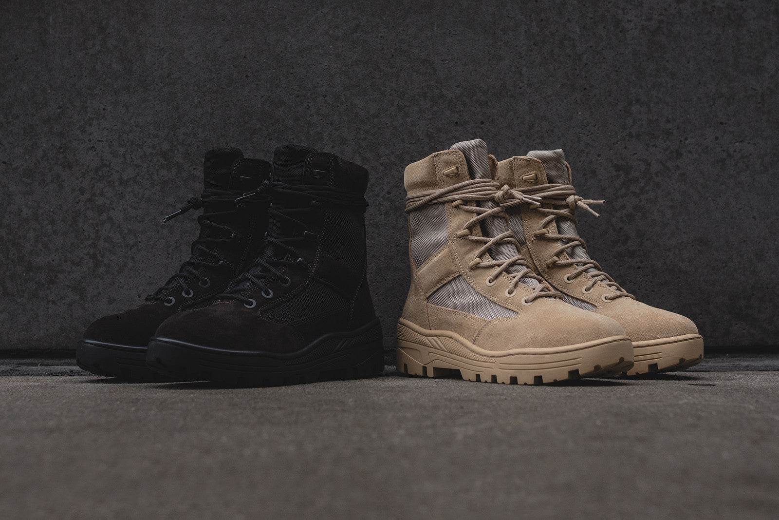 Yeezy Combat Boot Pack – Kith