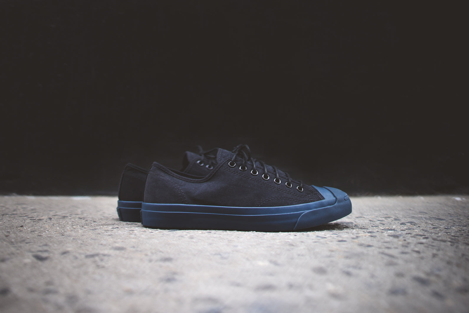 d4cea499fd1b Converse Jack Purcell Ox - Black   Navy – Kith