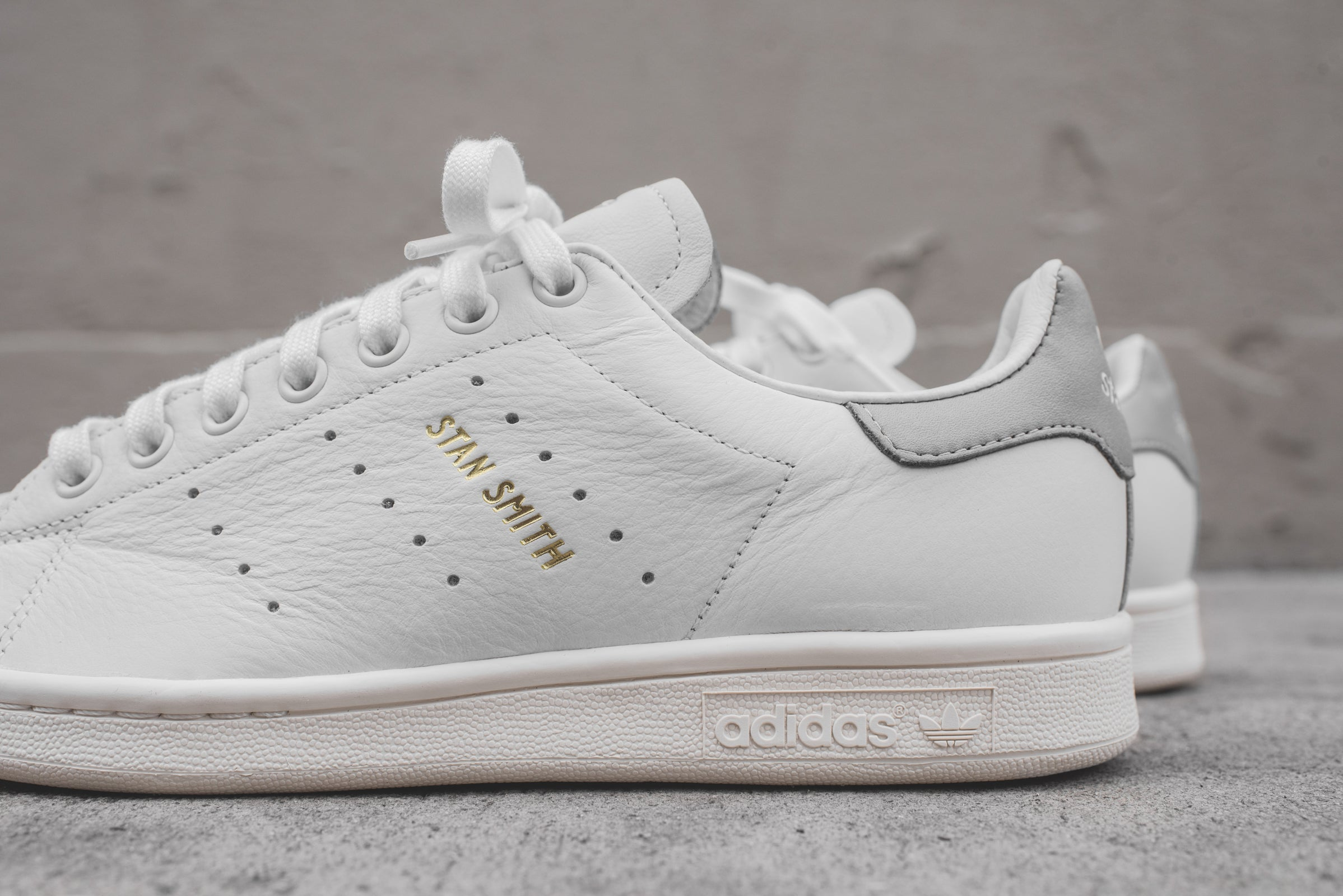 more photos 7d353 5f820 adidas Originals Stan Smith PRM - White / Grey – Kith