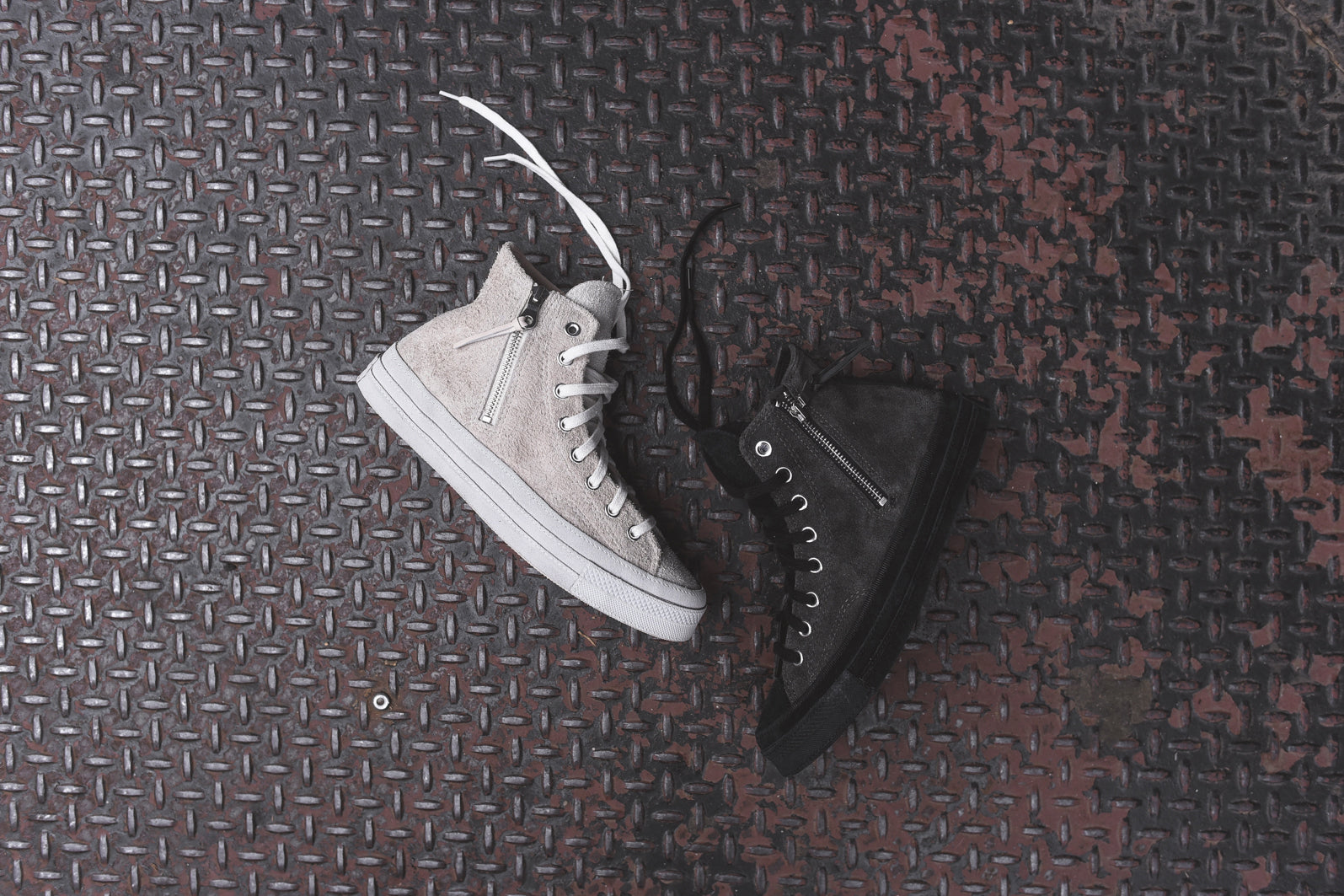 b72d0f2fa55396 Converse Chuck Taylor All Star Hi 1970 Zip - Vaporous Grey   Black ...