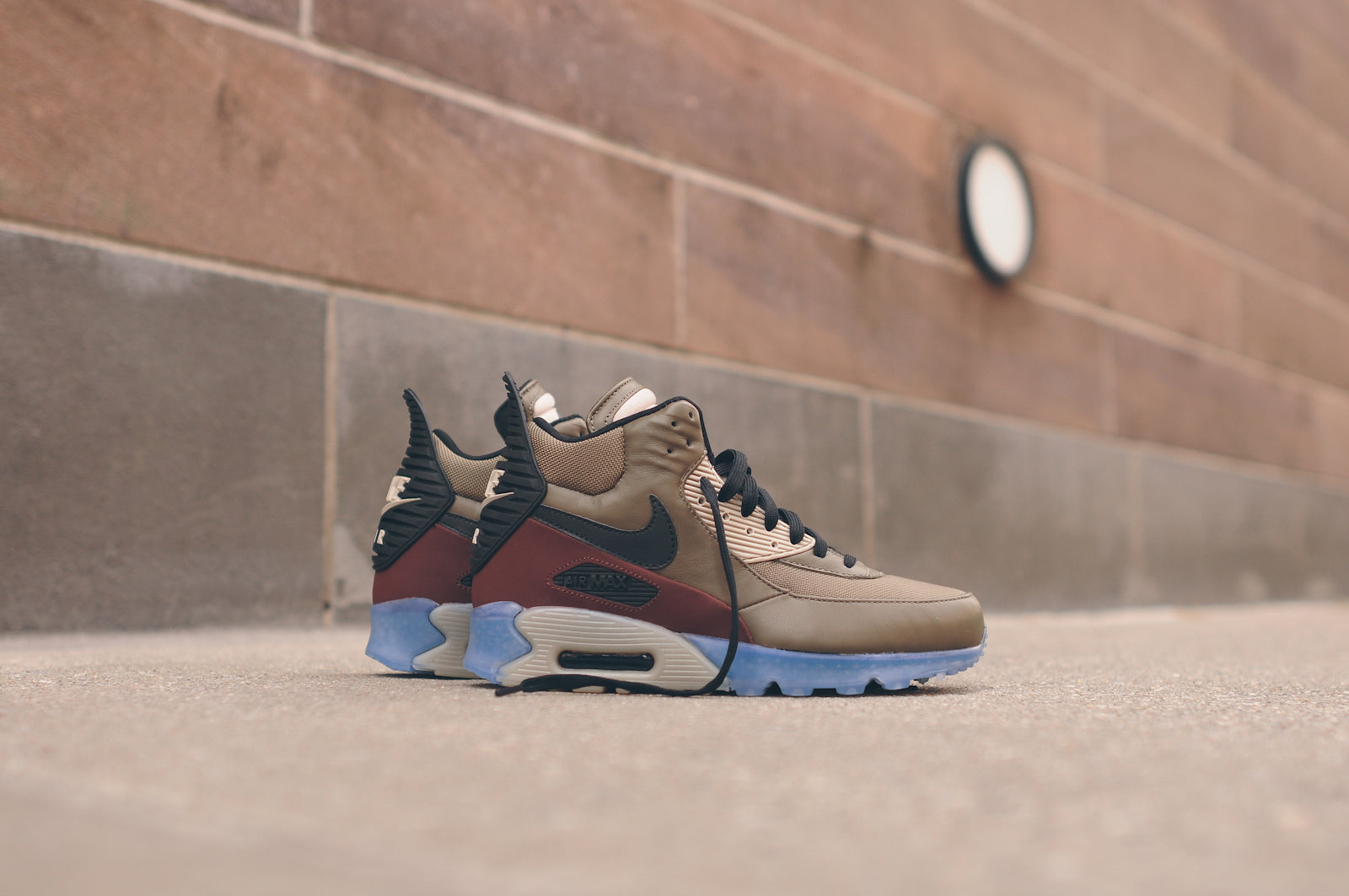 pretty nice bbccb 46250 ... Air Max 90 Sneakerboot ICE - Dark Dune Barkroot Brown is available now  for email order from the New KITH Shop and KITH Brooklyn.