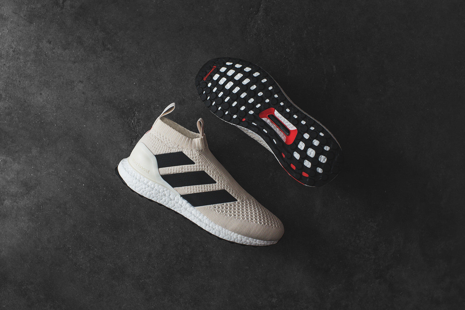 half off 16a6d 76569 adidas Ace 17+ Pure Control Ultra Boost - Off White  Core Red
