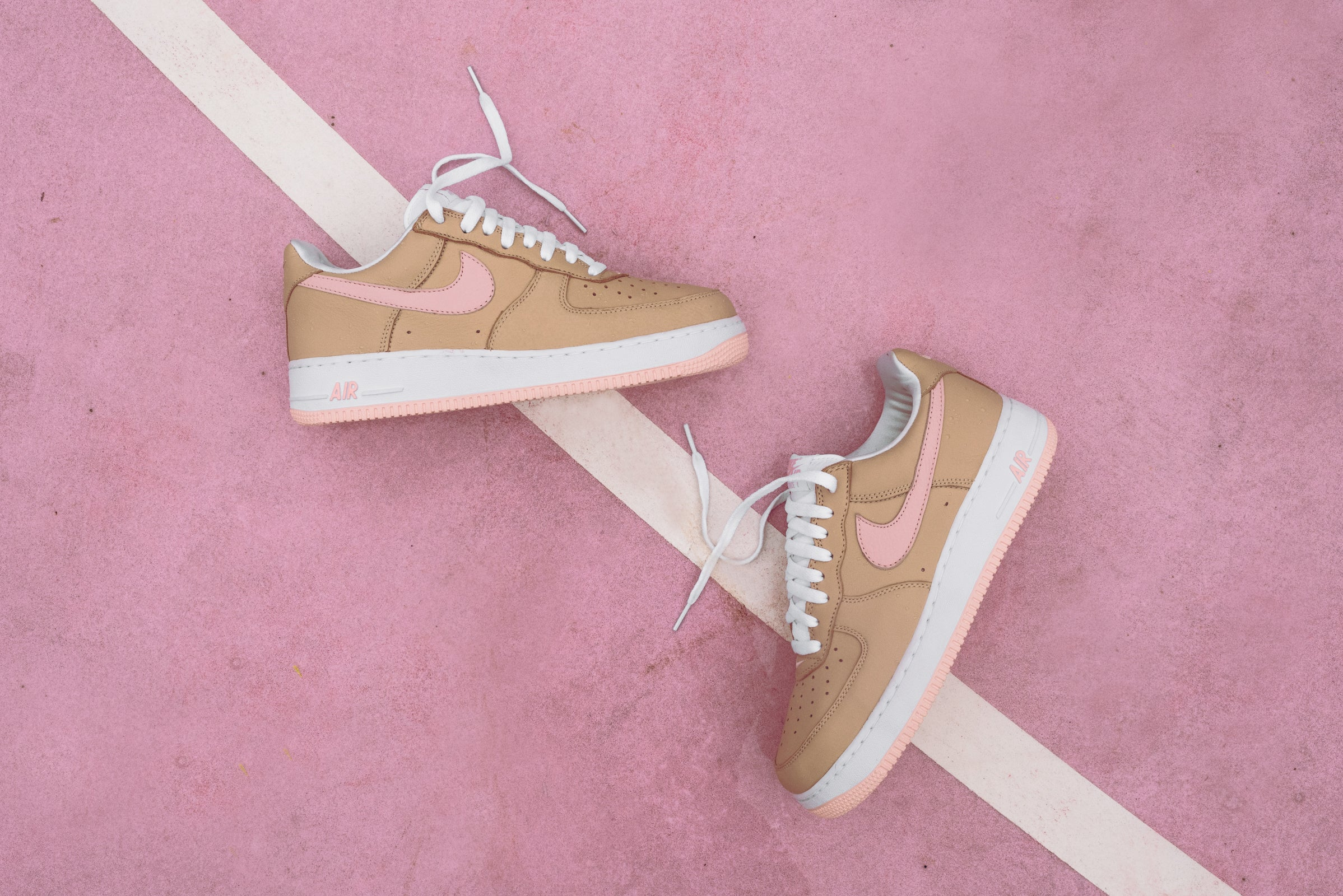 AF1 Linen as a Kith Miami Exclusive