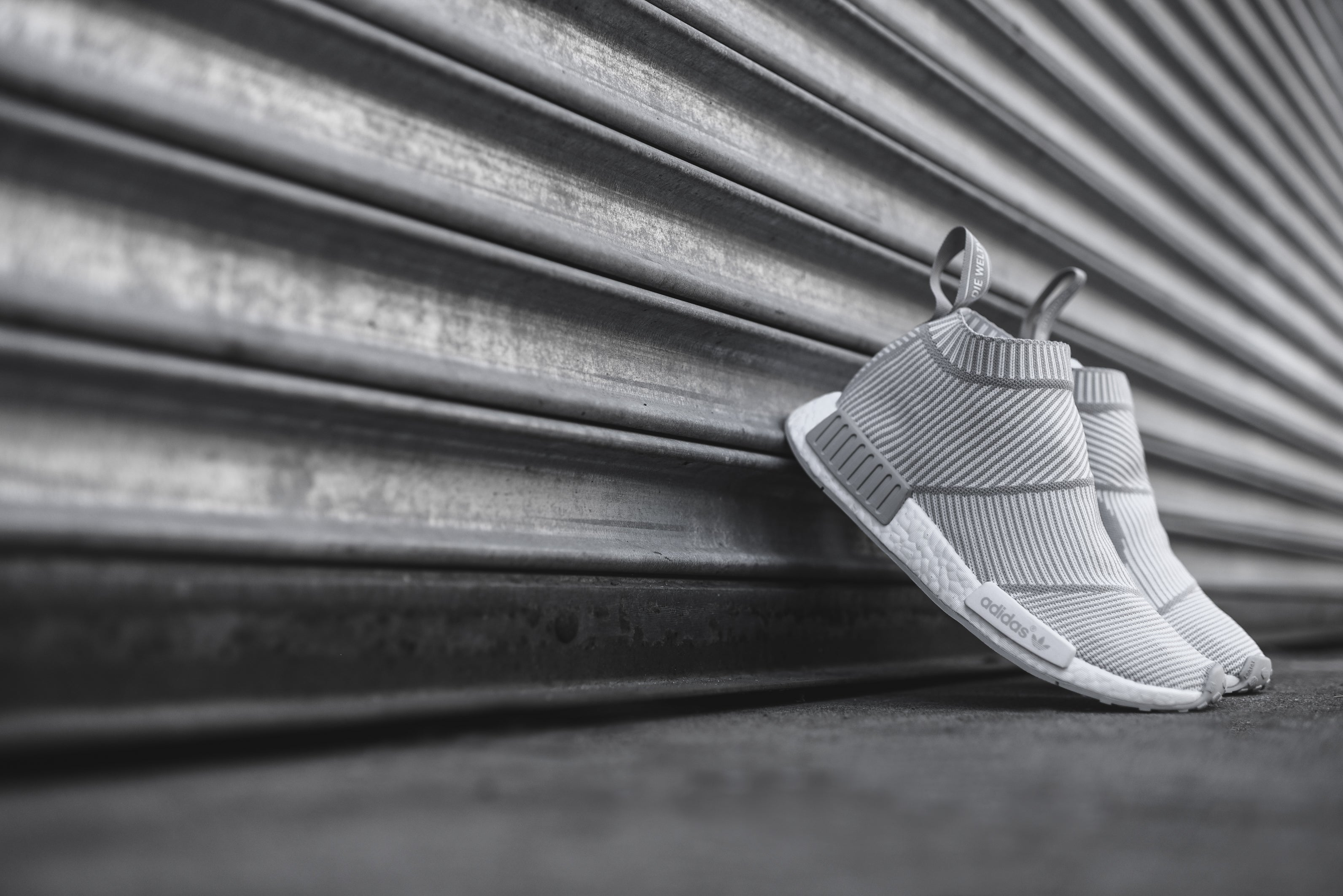 sports shoes e6738 a2658 adidas Originals NMD City Sock R1 PK - White / Solid Grey – Kith