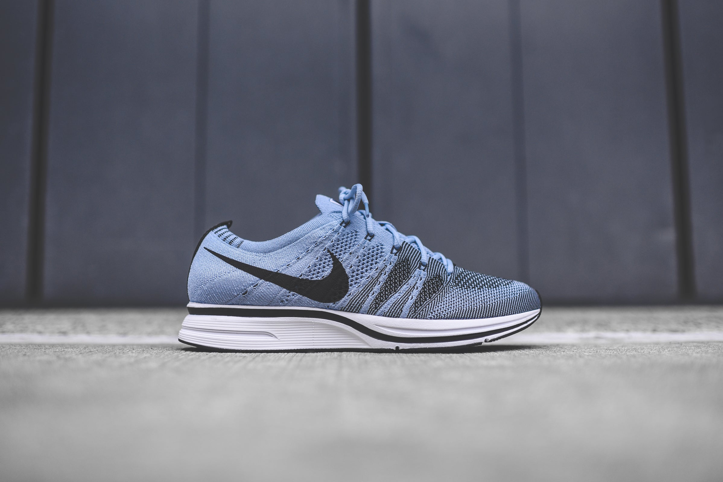 new style 62915 92ccb NikeLab Flyknit Trainer - Cirrus Blue   White – Kith