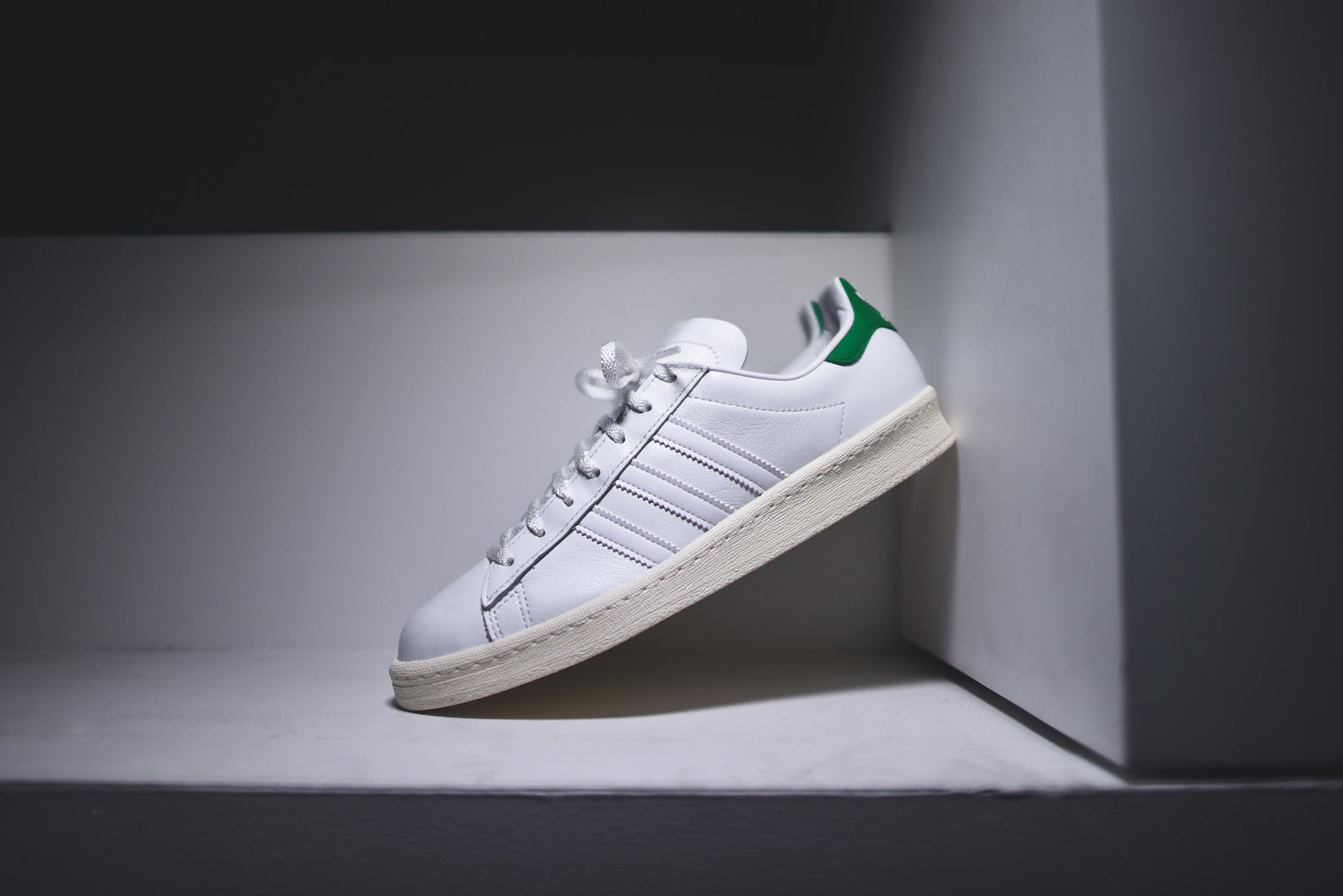 358223c61165 adidas Originals x Nigo Campus 80s - White   Green   KITH NYC – Kith