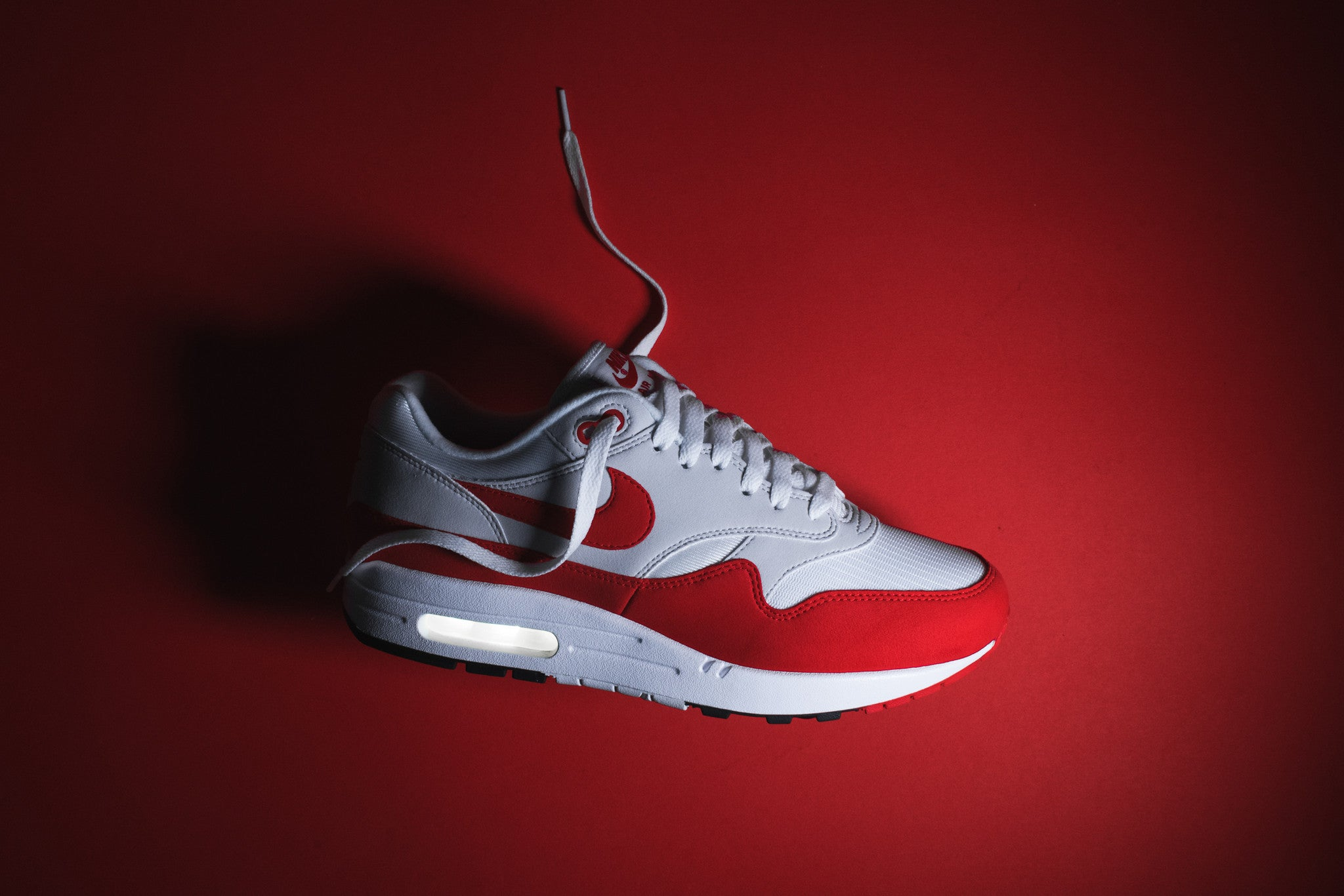 wholesale dealer 46c95 77053 Nike Air Max 1 Anniversary QS - White / University Red – Kith