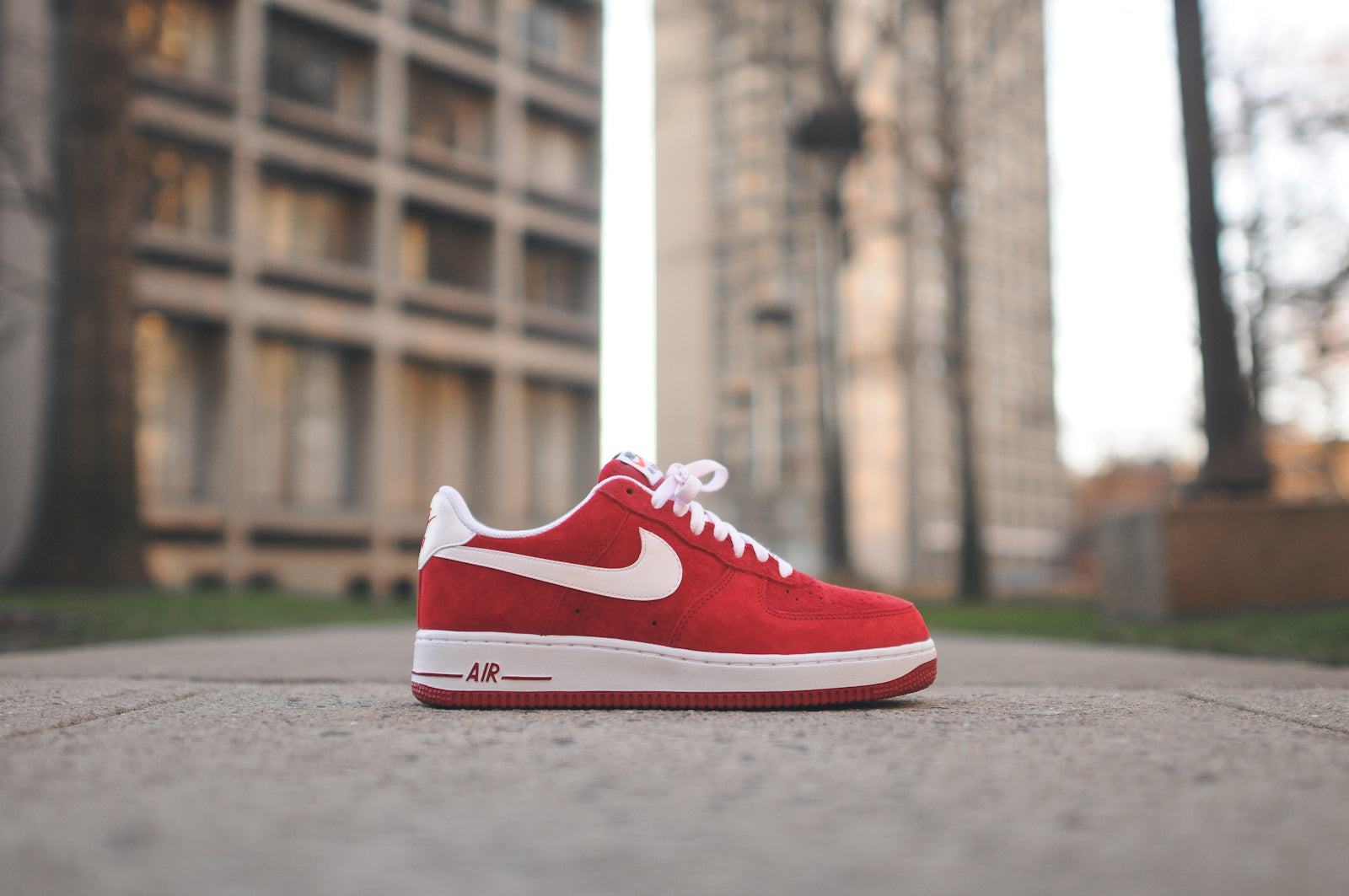 fast delivery nice cheap cheap NIKE AIR FORCE 1 LOW - GYM RED / WHITE @ KITH NYC – Kith