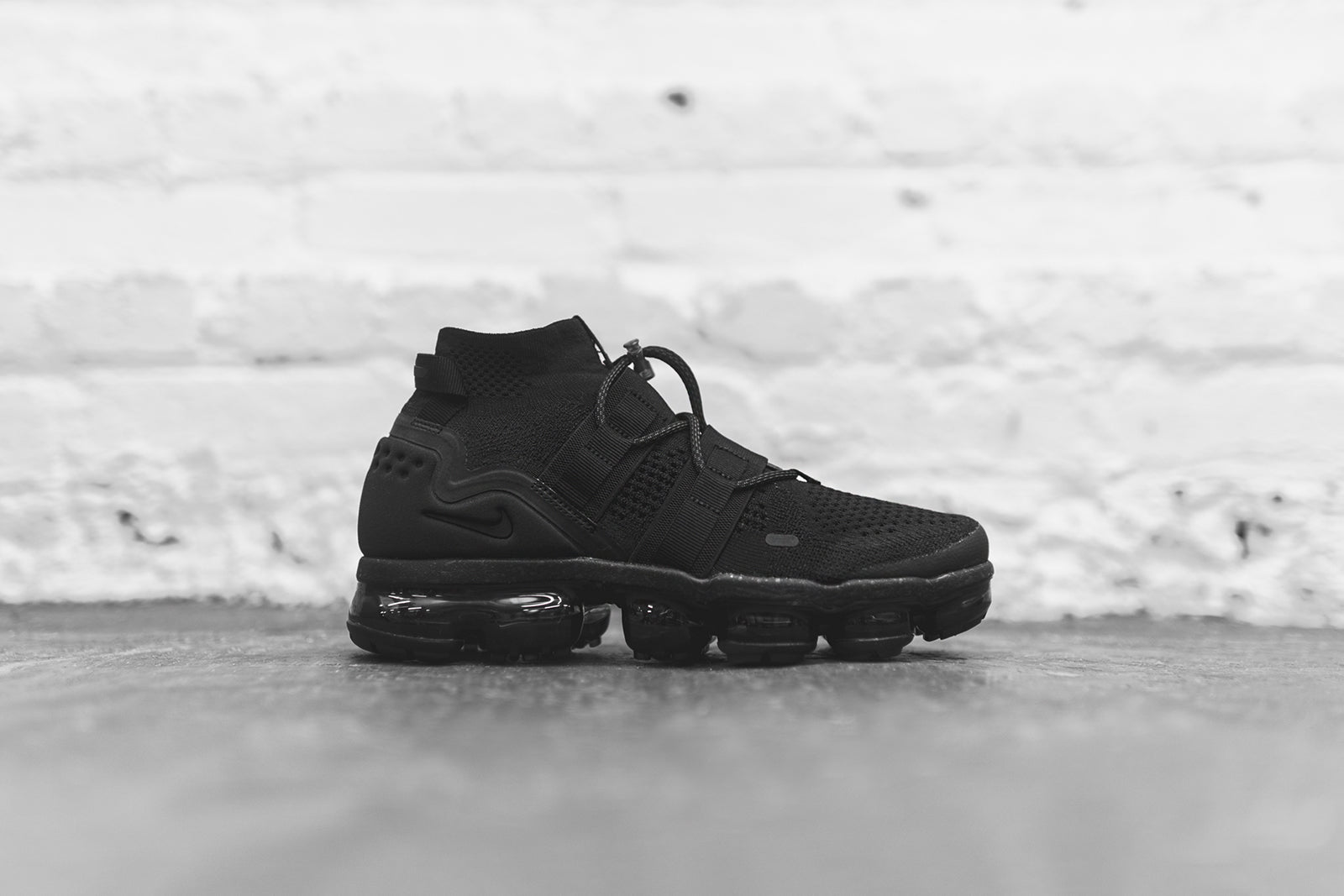 dca26684054 Nike Air VaporMax FK Utility - Triple Black. January 04