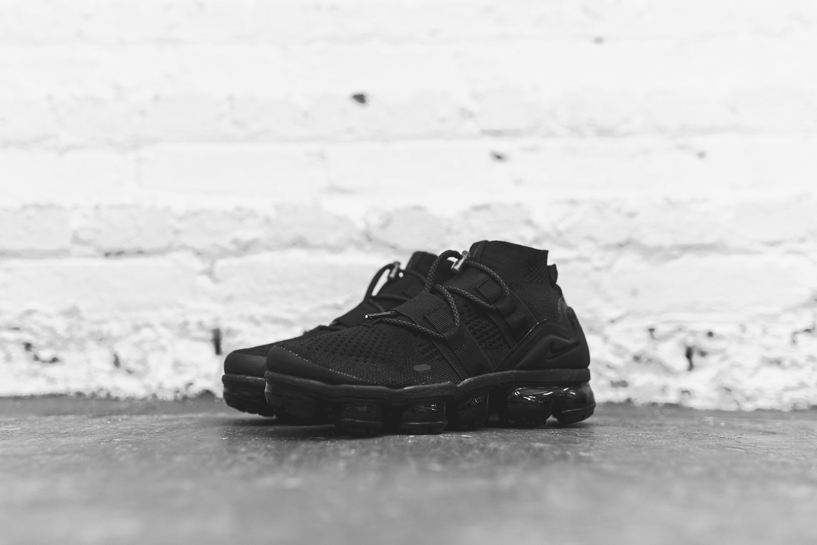 c0aad9a68c683 Nike Air VaporMax FK Utility - Triple Black. January 04