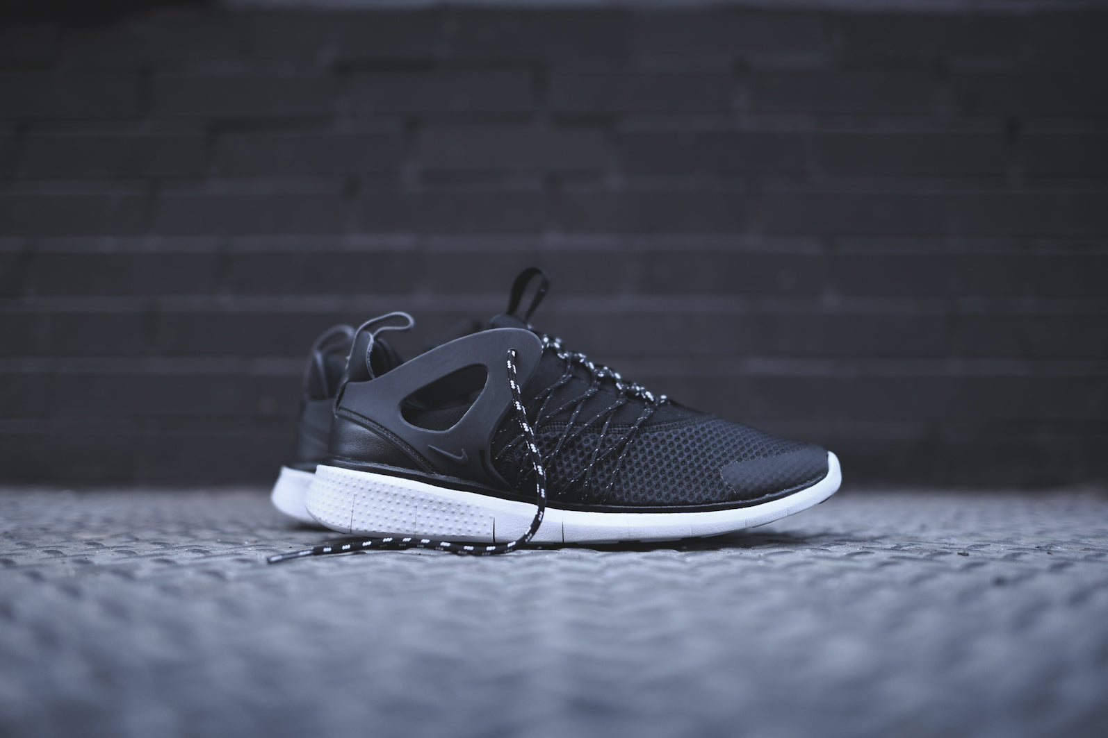 ff842c6e097 The Nike WMNS Free Viritous - Black   Cool Grey is available now for email  orders at KITH Manhattan and KITH Brooklyn.