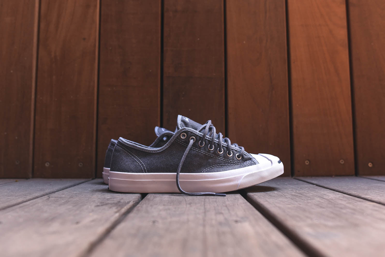 df6c089cf17a The tried-and-true Jack Purcell receives a new material treatment. Opposed  to the typical canvas upper