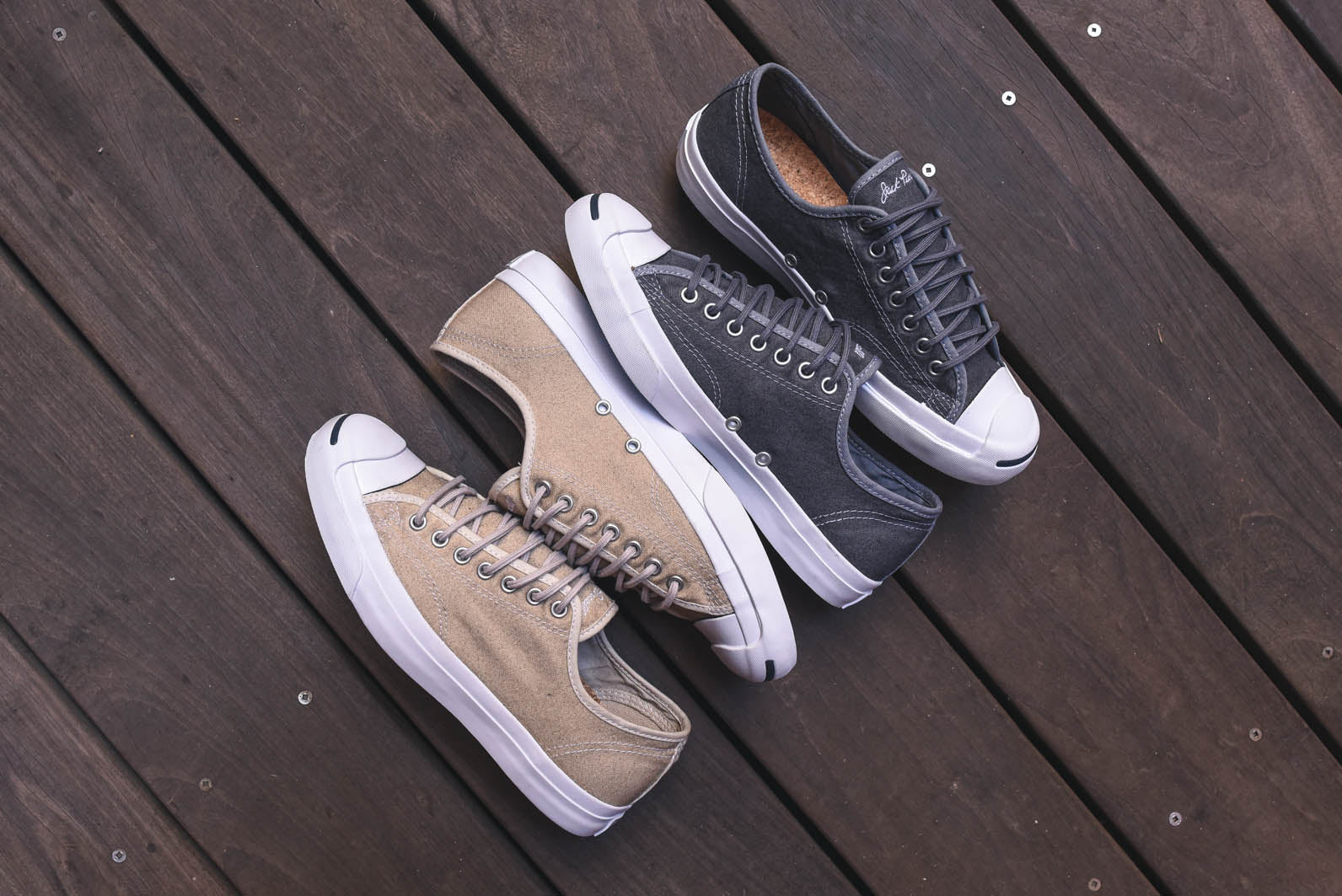 7882c08e4ff1 Converse Jack Purcell - Wool Canvas Pack – Kith