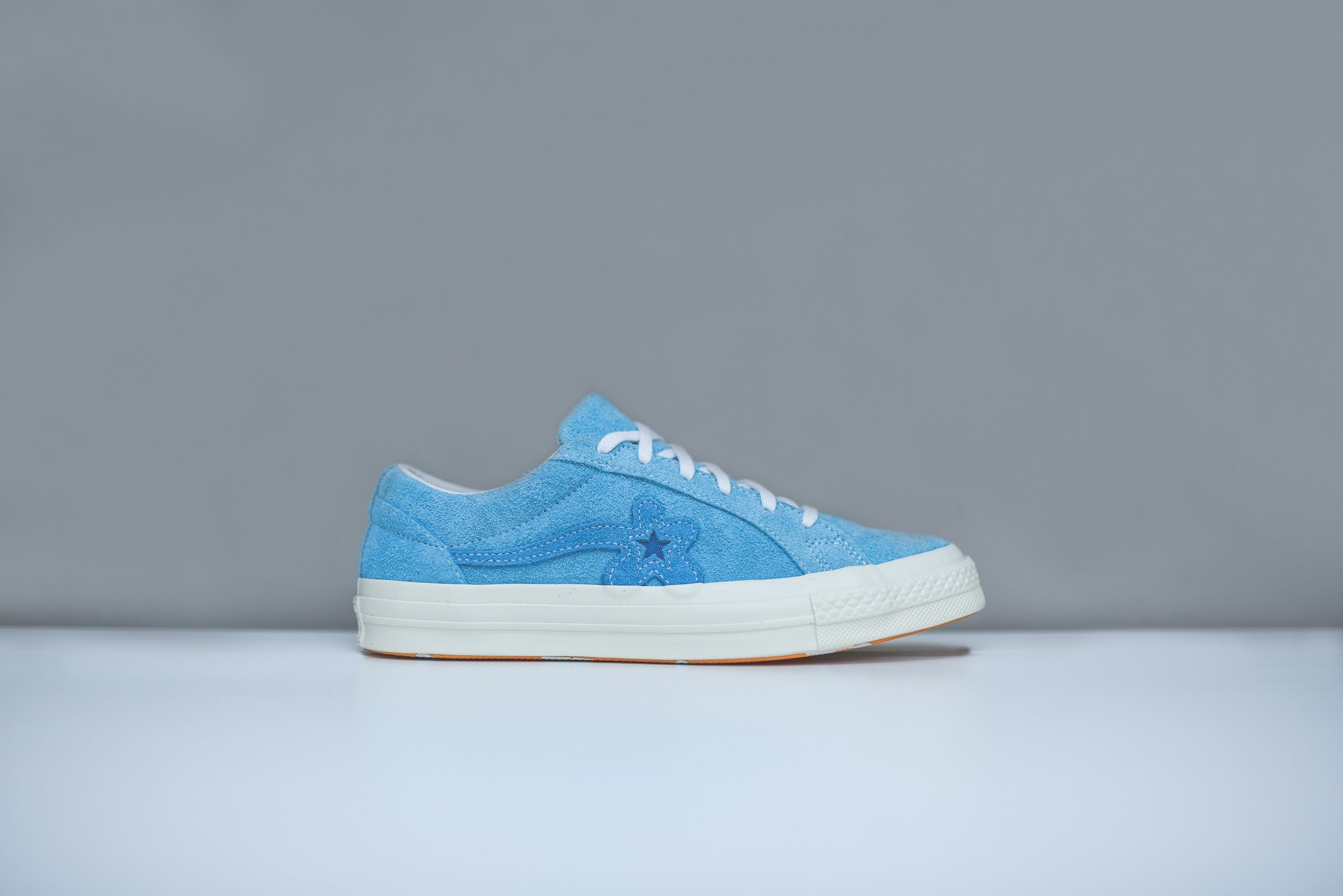 Converse X Golf Le Fleur One Star Bachelor Blue White Kith