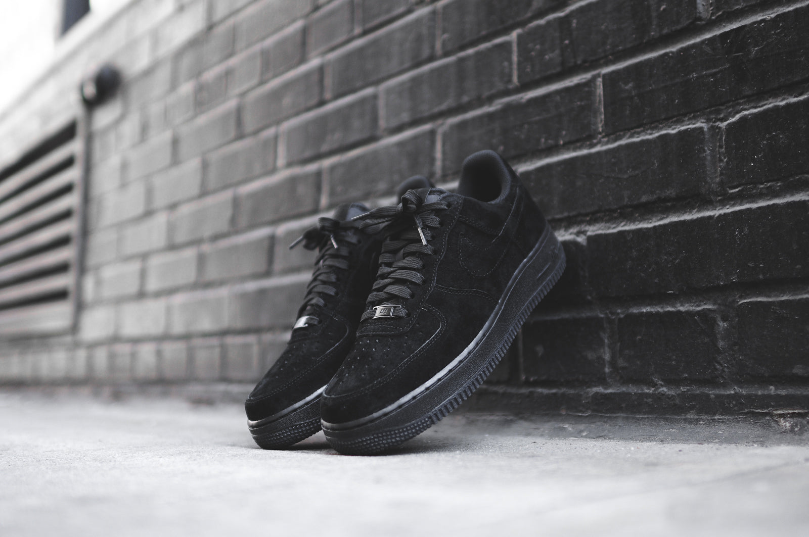 detailed pictures 4d534 4ded8 NIKE AIR FORCE 1 LOW - BLACK/BLACK/CLEAR @ KITH NYC – Kith