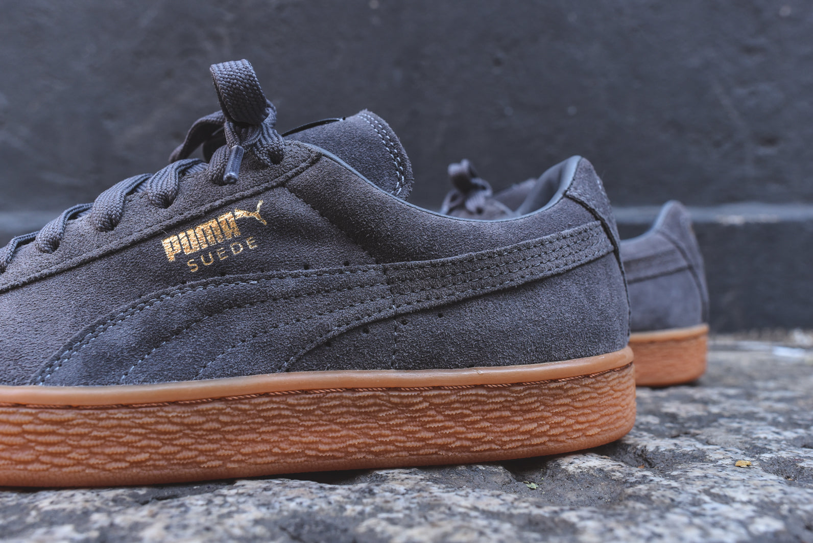 check out ceb7d 0cefc Puma Suede Winter - Steel Grey / Gum – Kith