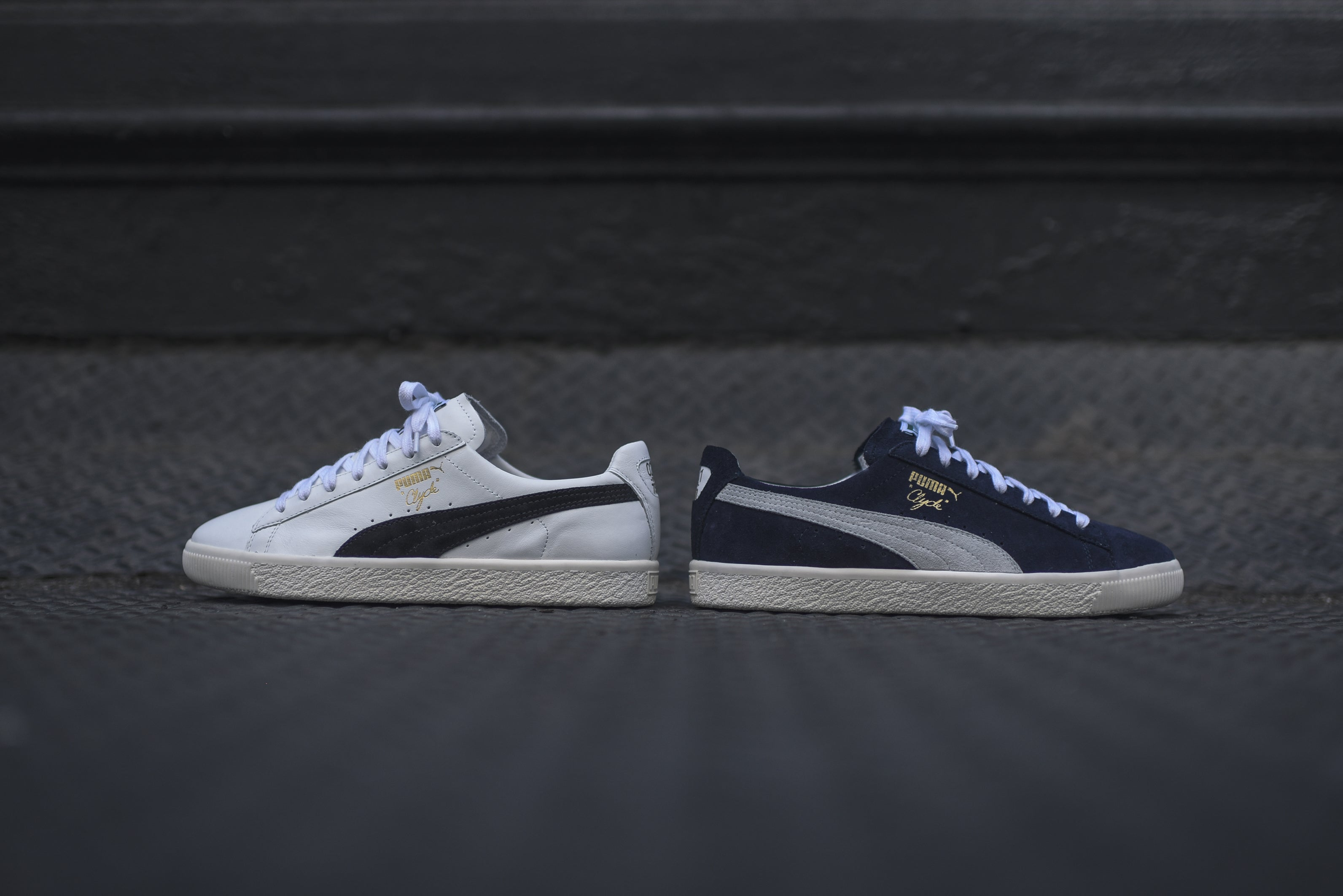 new concept 879bd 1bf9f Puma Clyde Select - Home   Away Pack – Kith