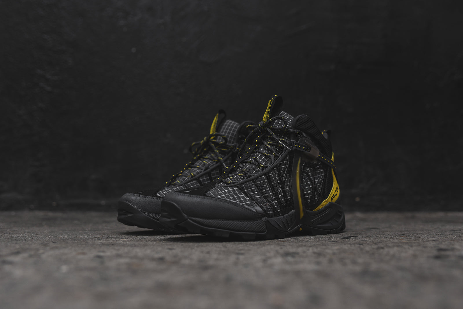 5210a800d563 Nike ACG Air Zoom Tallac Lite OG Boot - Black   Yellow – Kith