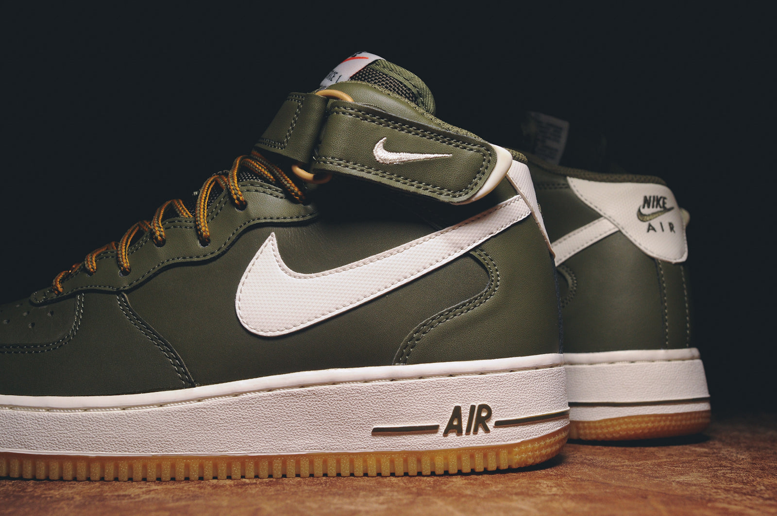 taille 40 3fb86 d0a22 NIKE AIR FORCE 1 MID '07 - OLIVE / GUM @ KITH NYC – Kith