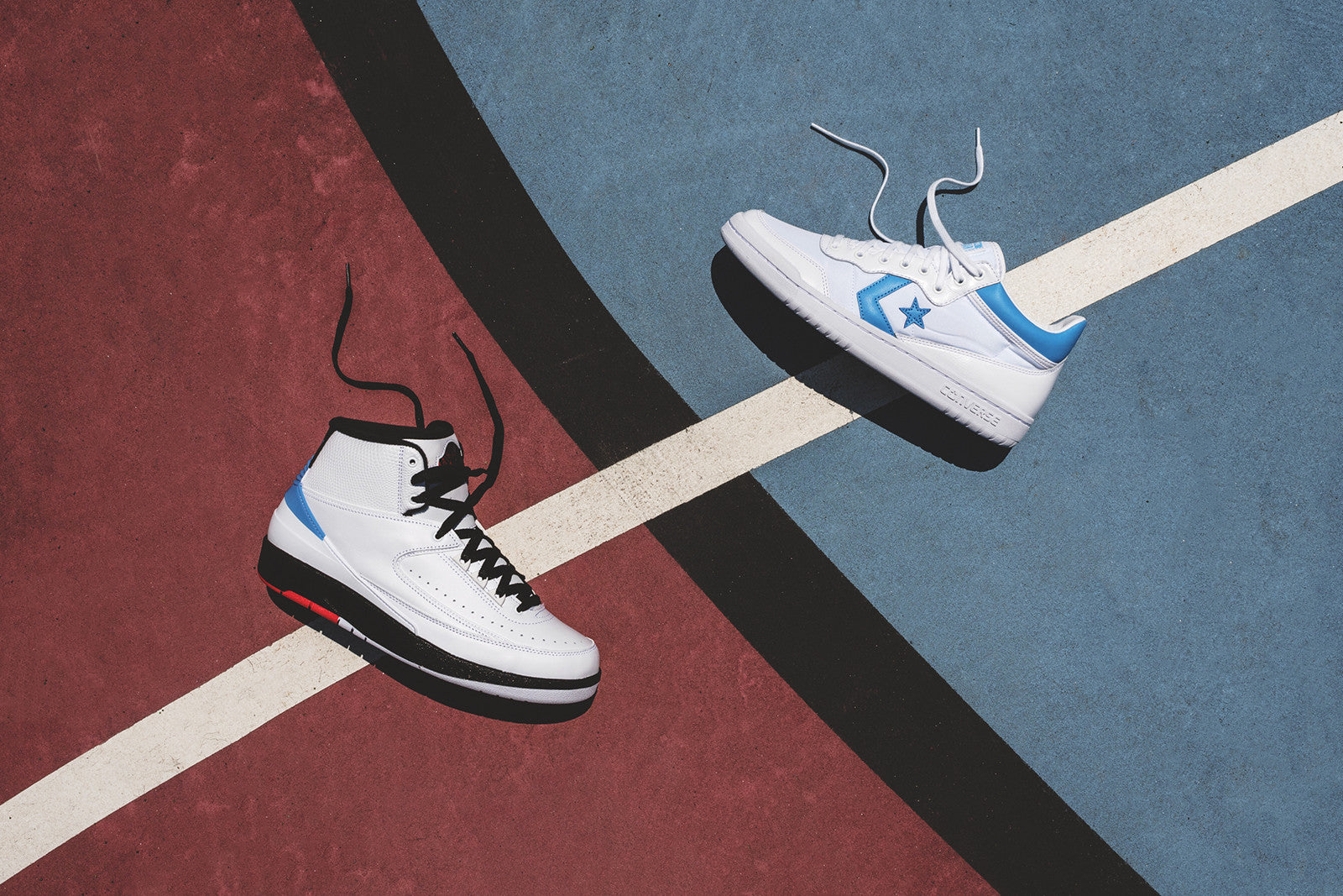 san francisco 82689 bd8f3 Nike Air Jordan x Converse Pack - White   Carolina Blue. June 28, 2017. -6.  -1