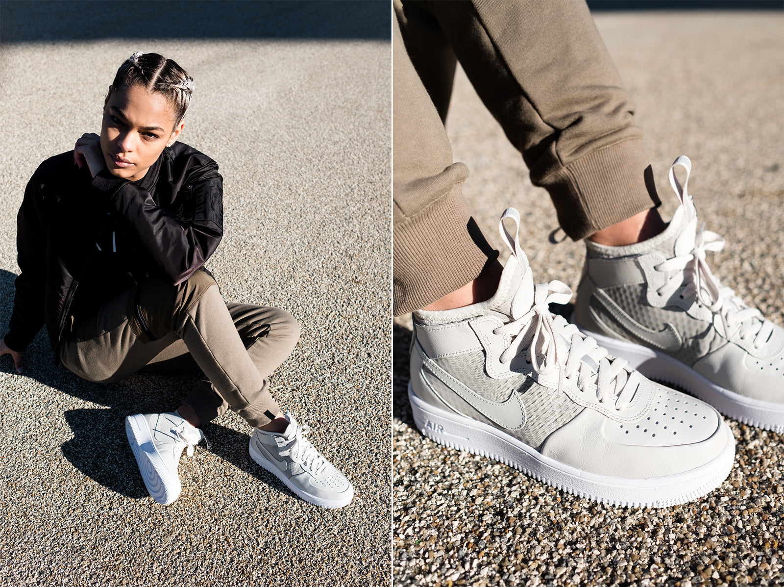 Kith Editorial for the Nike WMNS UltraForce Mid & SF AF1