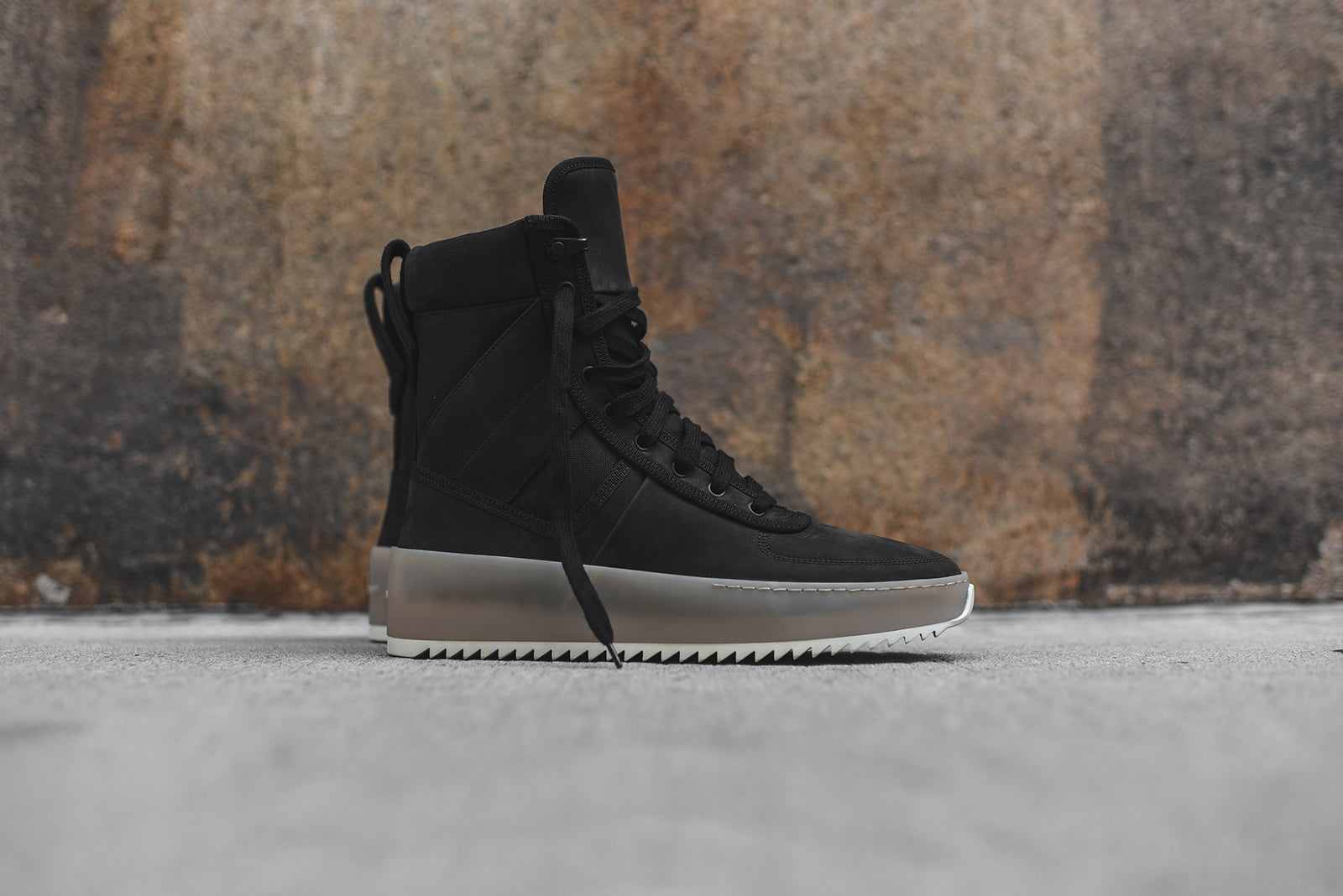6cf44464482f Fear Of God Military Sneaker - Black   Gum – Kith