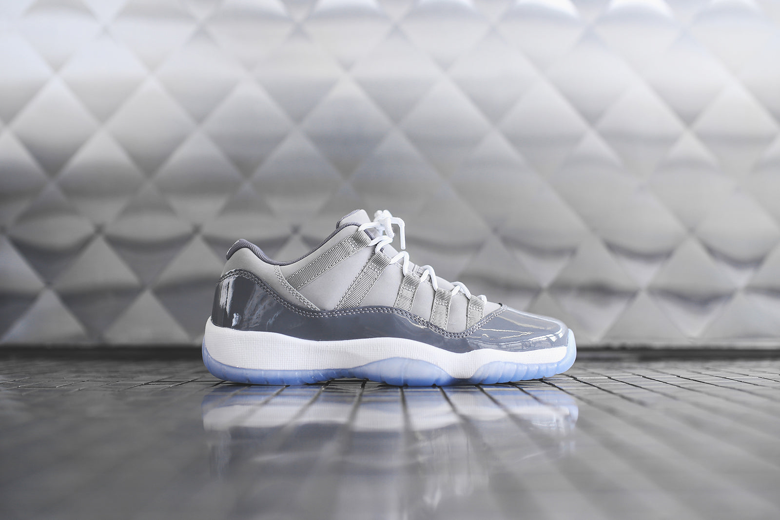 premium selection 3b145 bdbd5 Nike GS Air Jordan 11 Retro Low - Cool Grey – Kith