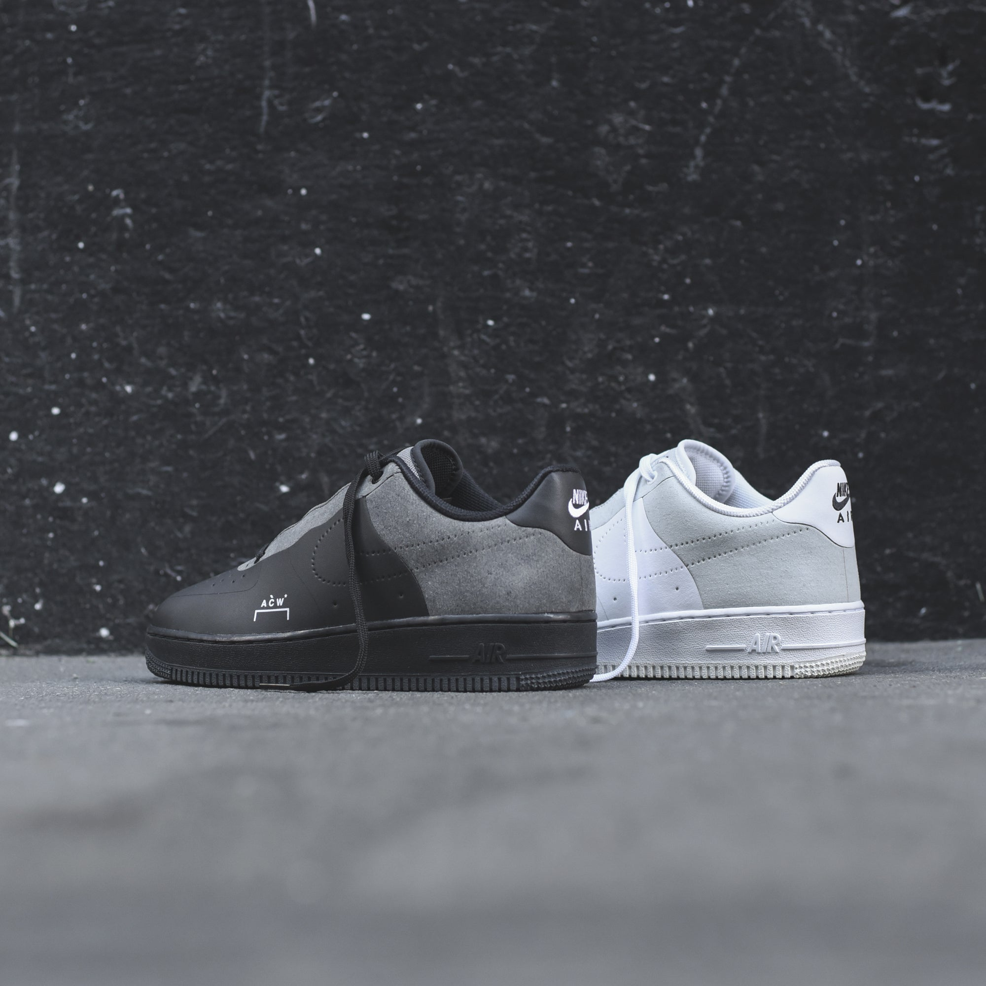 Preview: A Cold Wall* x Nike Air Force 1 Black - Le Site