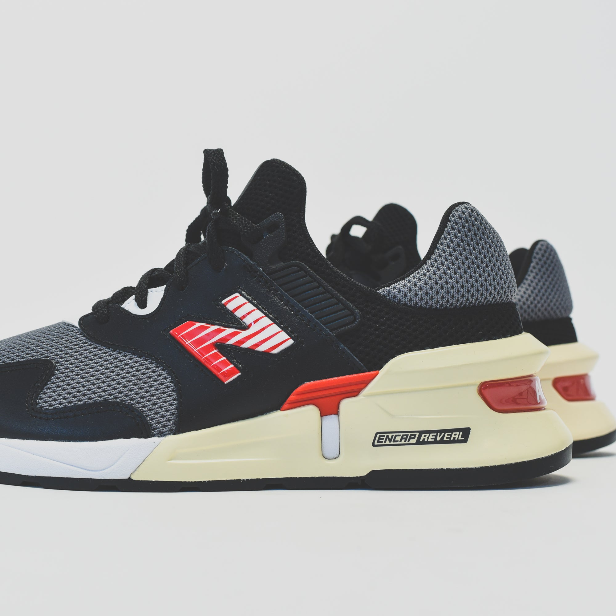new products c059d 0c61c New Balance 997 Sport - Black / Red – Kith