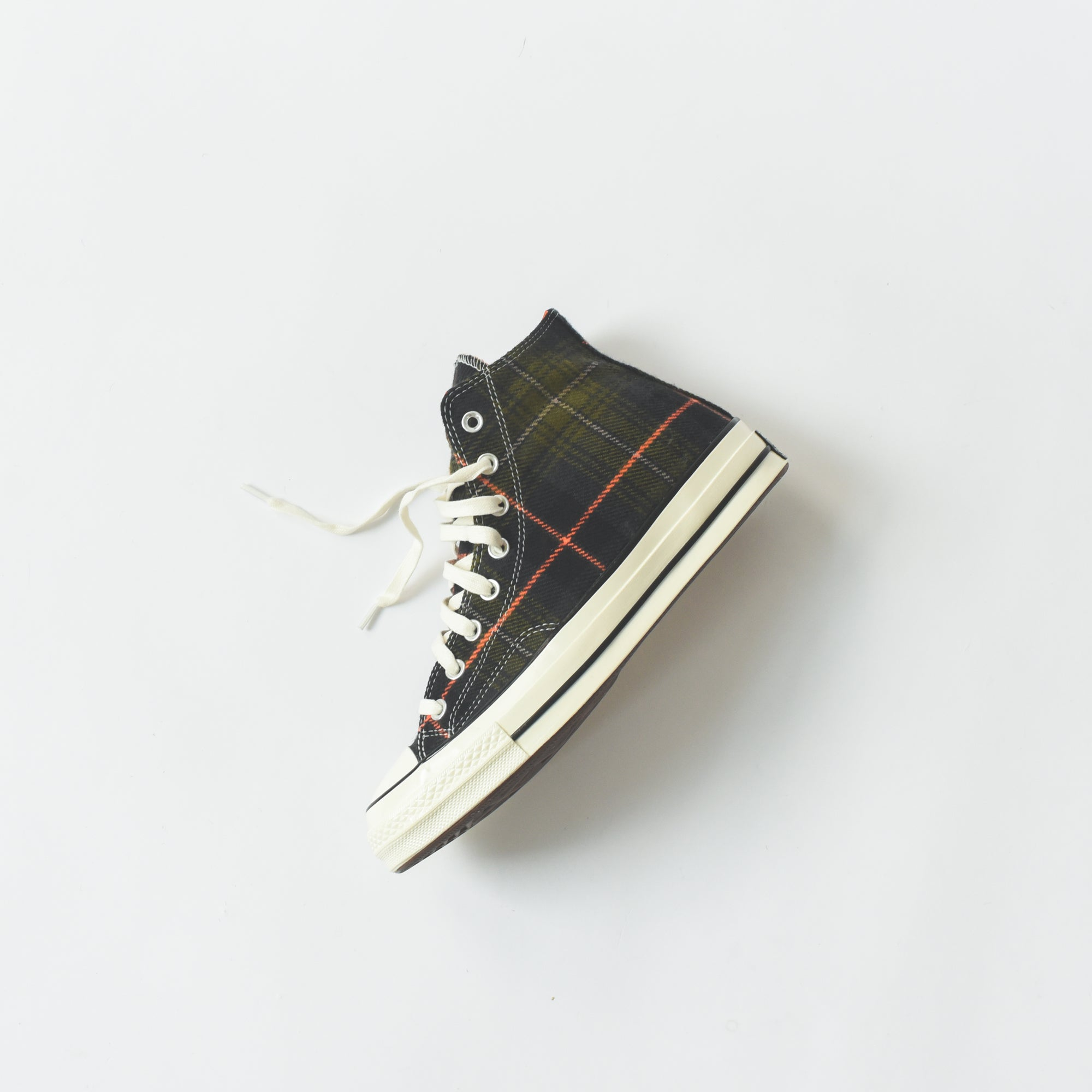7e46e804b4de Converse Chuck Taylor 70 High - Olive Plaid   Orange. October 09