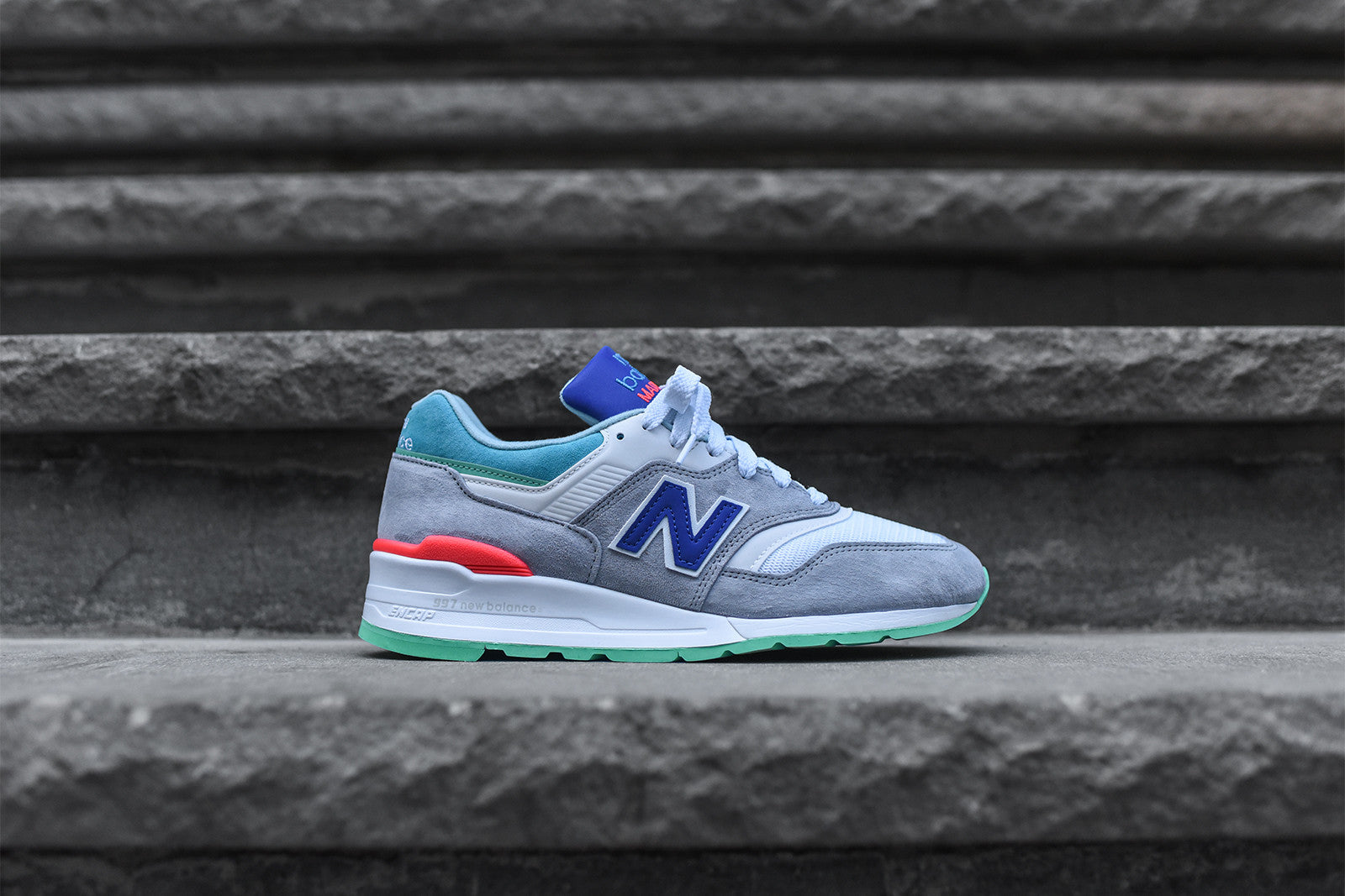 first rate c6dd5 042c5 New Balance 997 - Grey / Green – Kith
