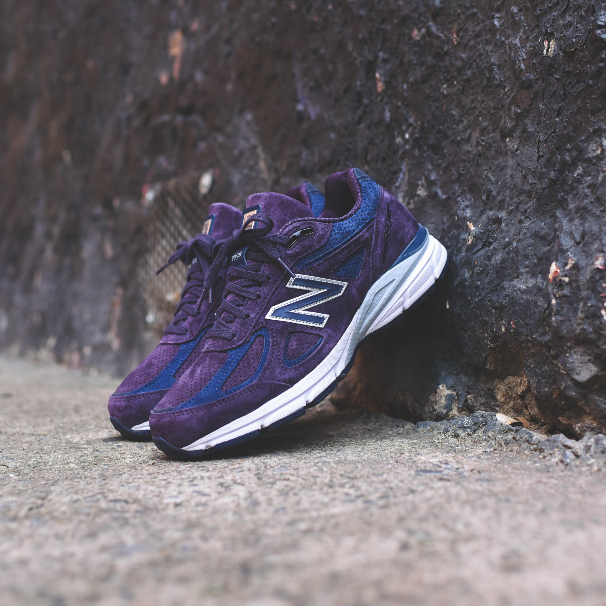 the latest ec081 71873 New Balance Made in US 990v4 - Elderberry   Pigment – Kith