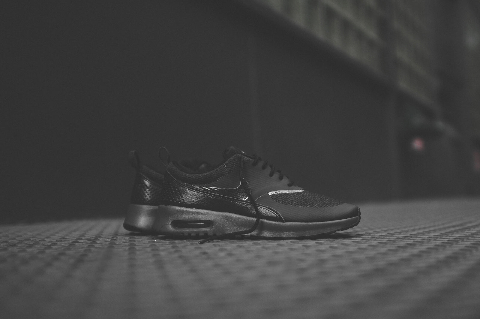 promo code 99013 bdef0 The Nike WMNS Air Max Thea PRM - Triple Black is available now for email  order at Kith Manhattan and Kith Brooklyn.