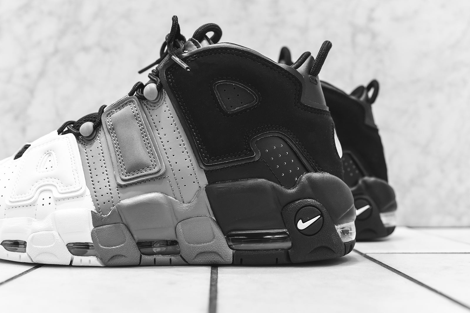cdb1de70a1 Nike Air More Uptempo '96 - Black / White – Kith nike air