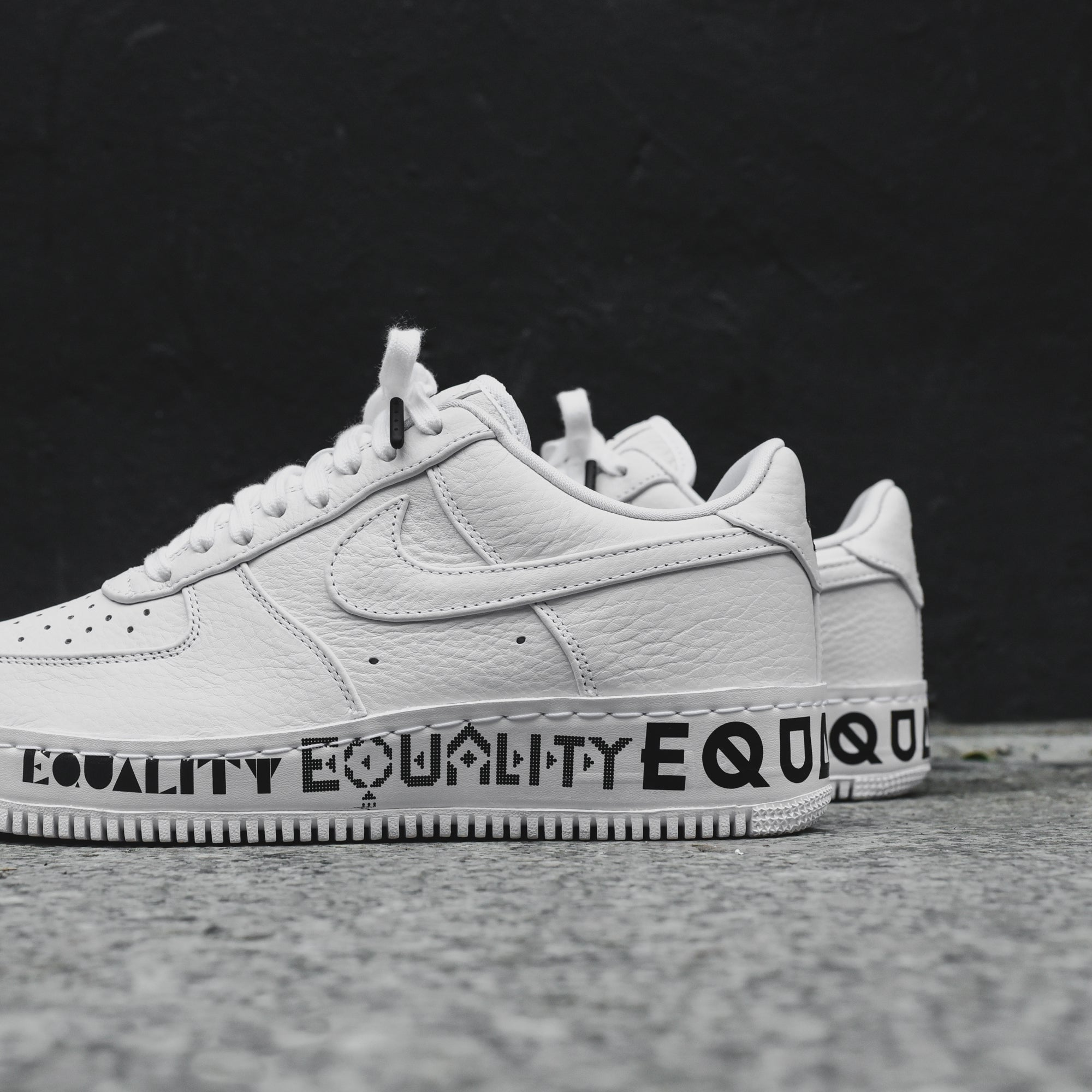 best service 89ac6 15036 Nike Air Force 1 Low CMFT Equality - White / Black – Kith