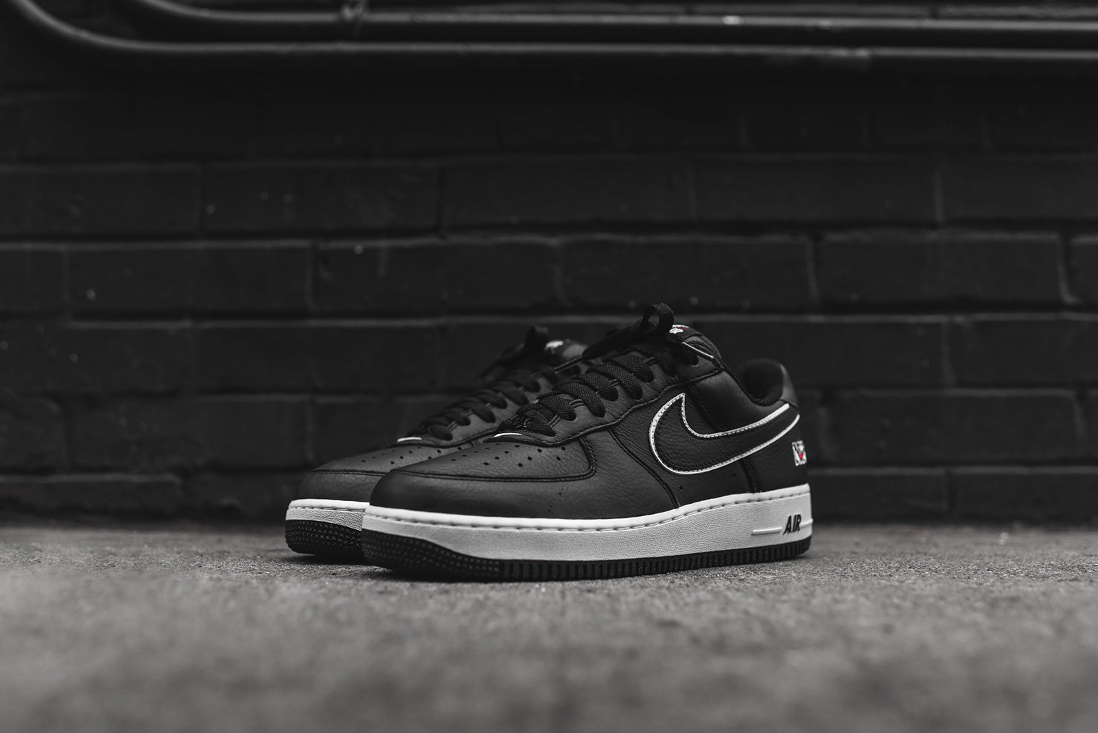 new style d0aa2 99c6f nike air force 1 low retro nyc black white Shop ...