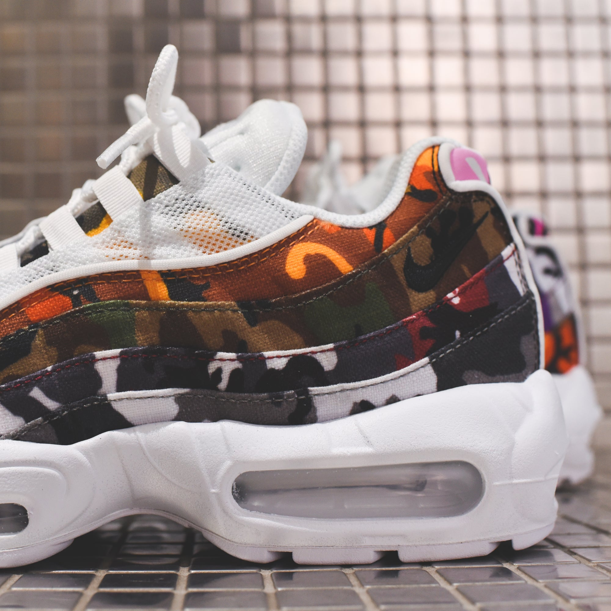 hot sales 156ef b70f5 Nike Air Max 95 ERDL - Party White / Multi – Kith