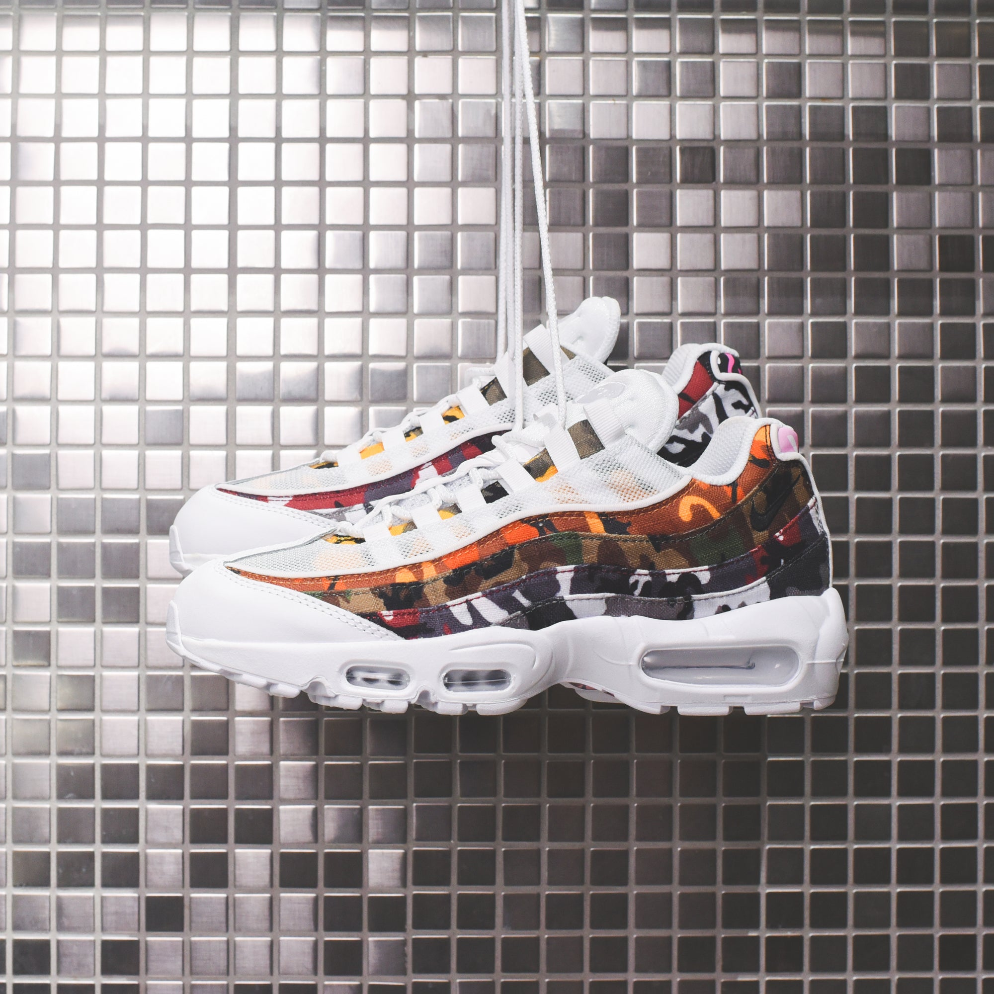 hot sales a4884 5f877 Nike Air Max 95 ERDL - Party White / Multi – Kith