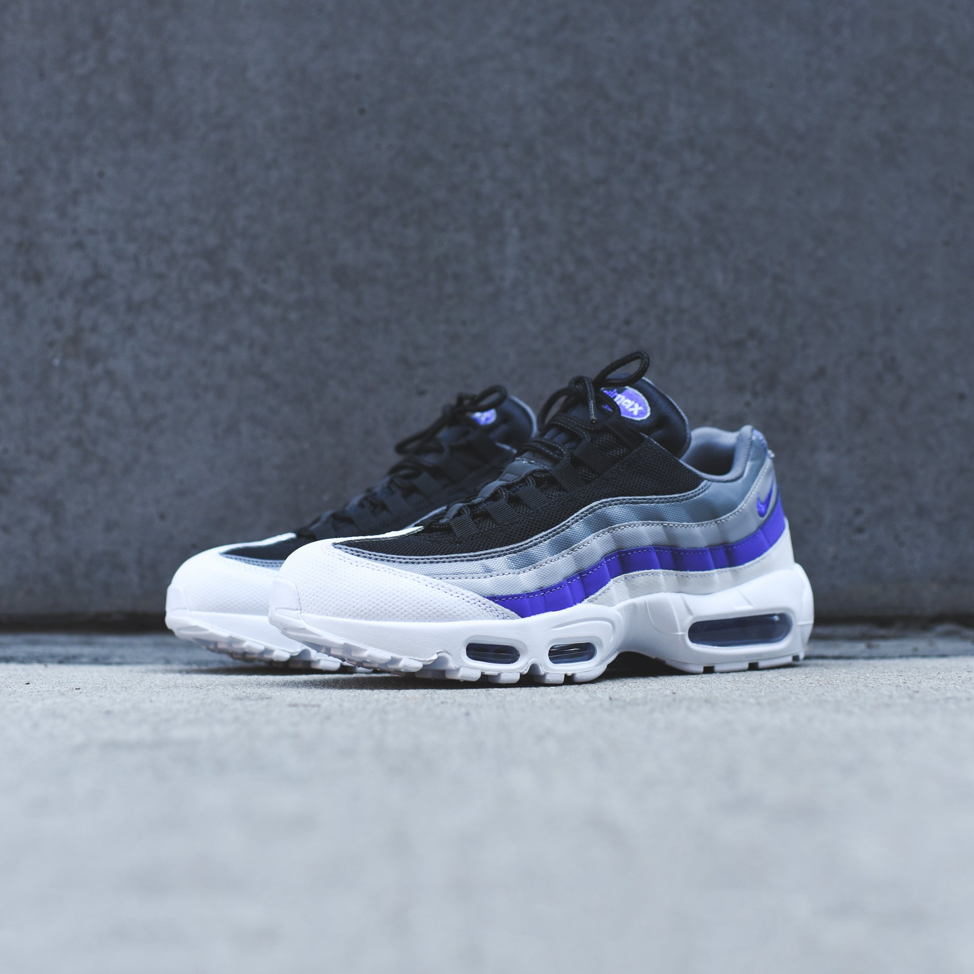 Nike Air Max 95 Essential White Violet Kith