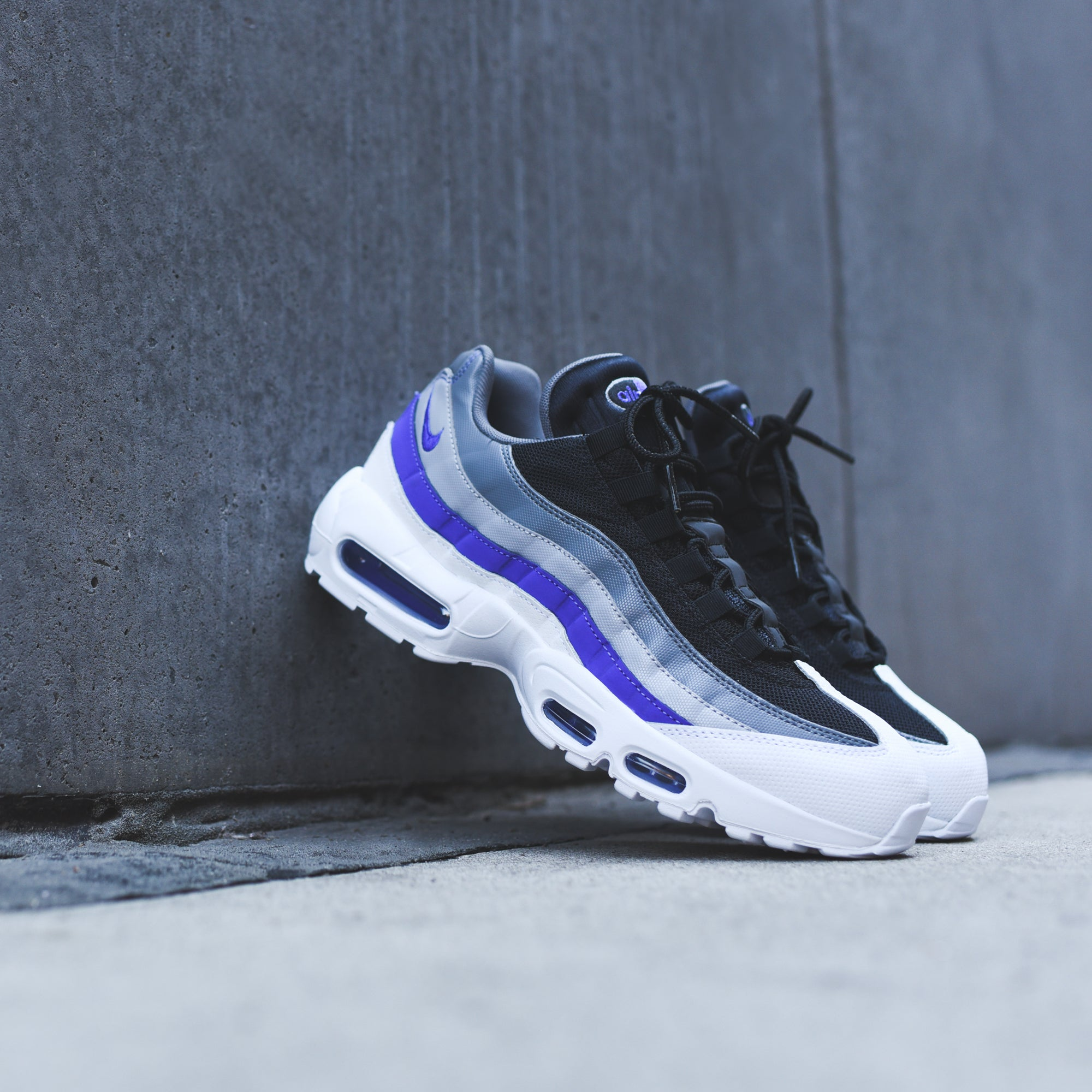 premium selection 1ca34 49bfb Nike Air Max 95 Essential - White / Violet – Kith